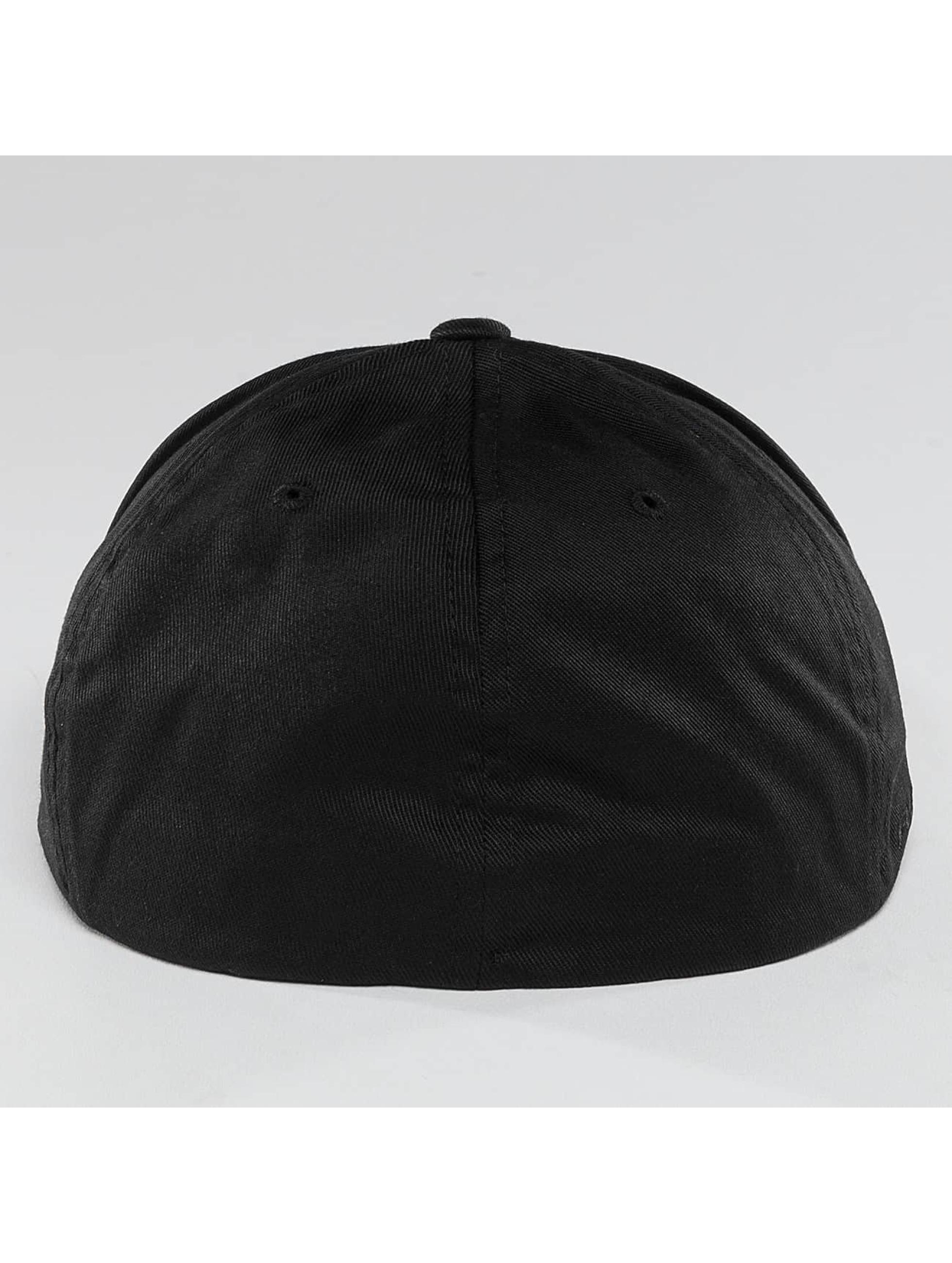 Quiksilver Fitted Cap Stuckles svart