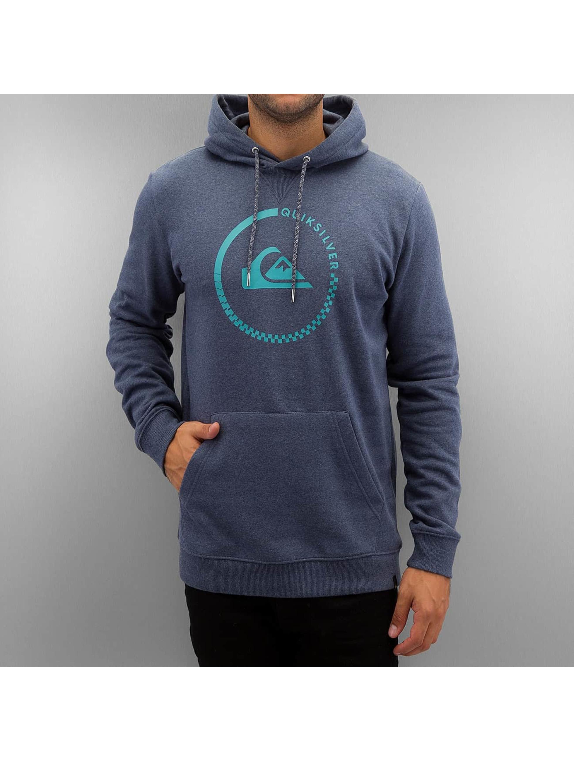 Quiksilver Hettegensre Big Logo blå