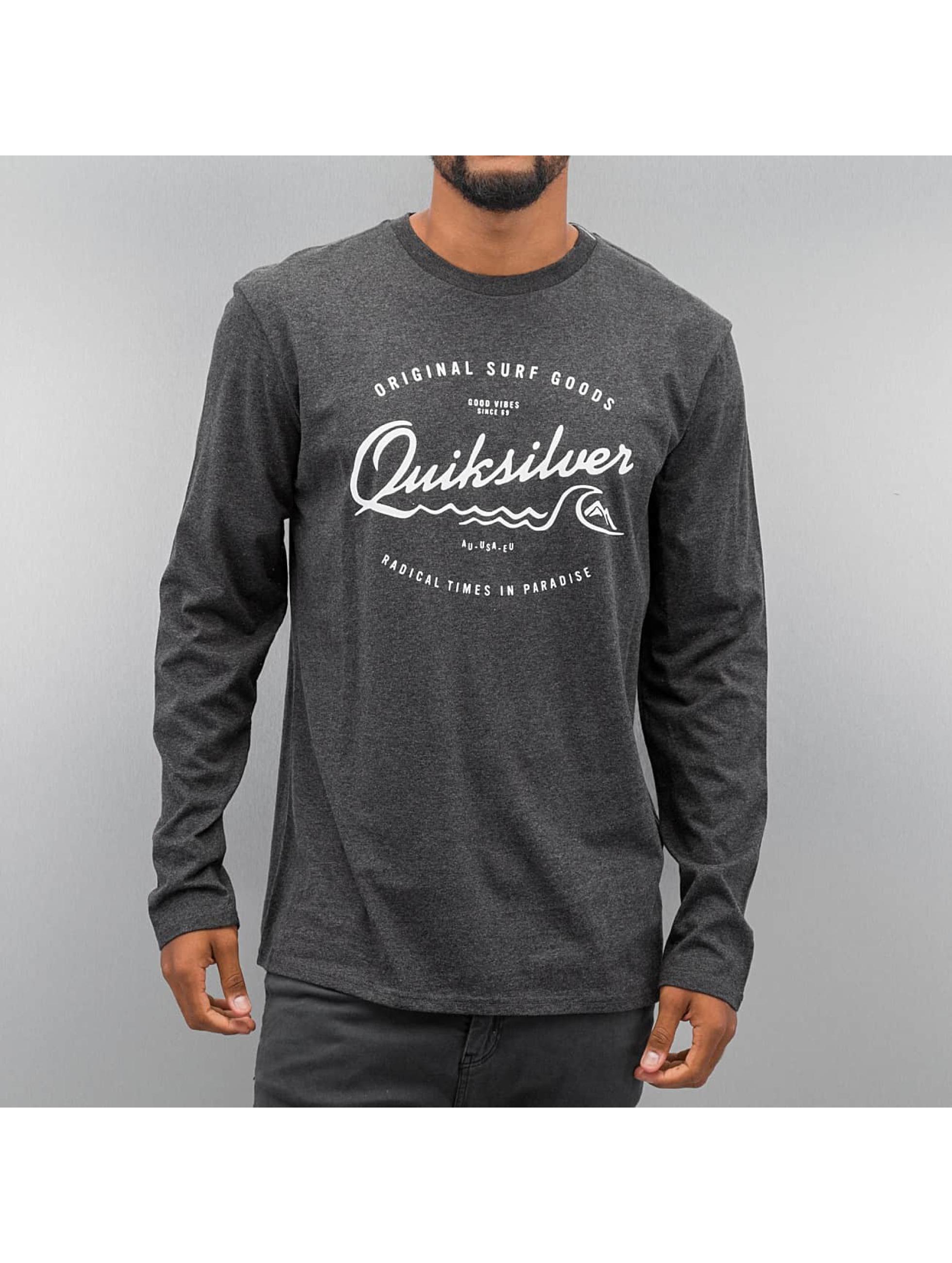 Quiksilver Longsleeve Classic West Pier gray