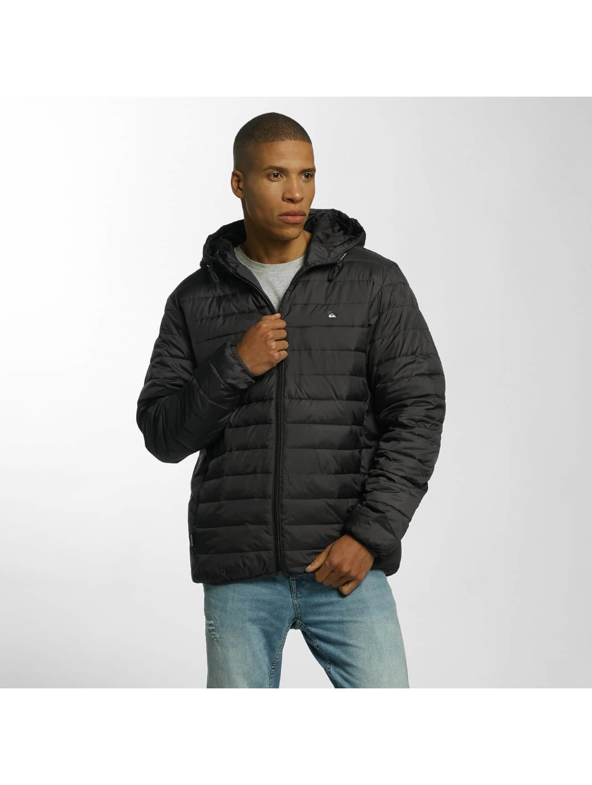 Quiksilver Manteau hiver Everyday Scaly noir