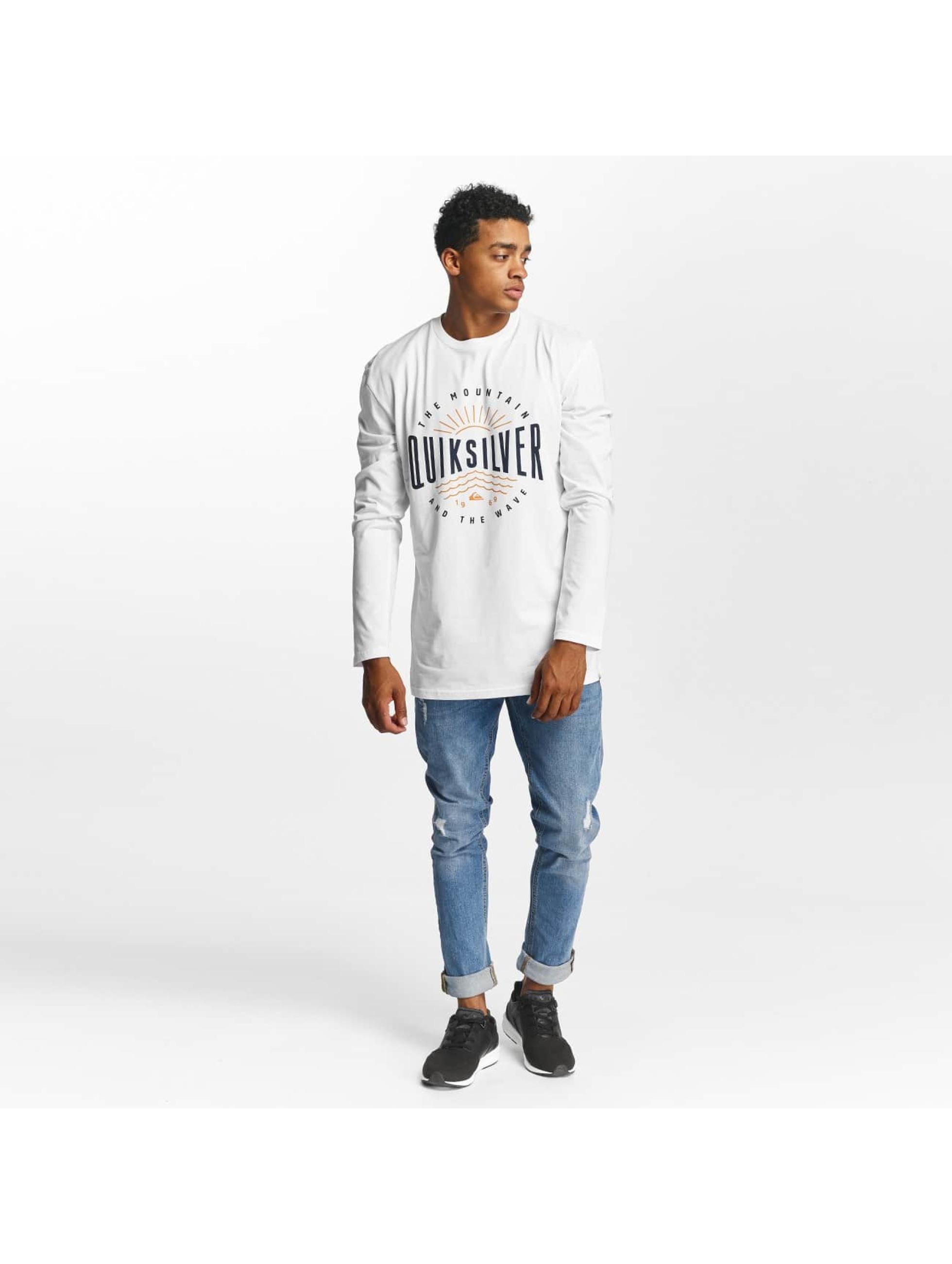 Quiksilver Pitkähihaiset paidat Classic Mad Wave valkoinen