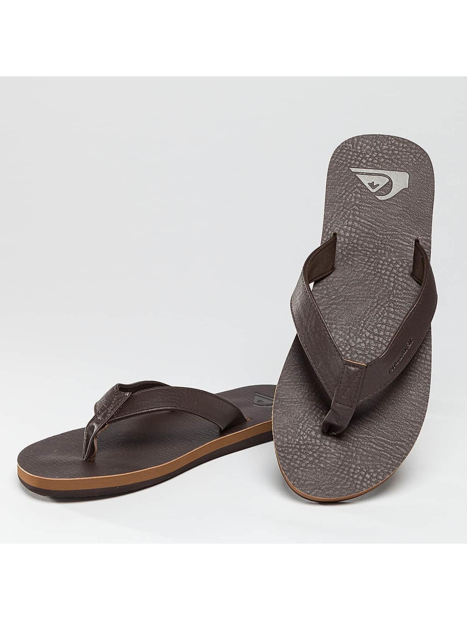 Quiksilver Chaussures / Sandales Molokai Nubuck en brun