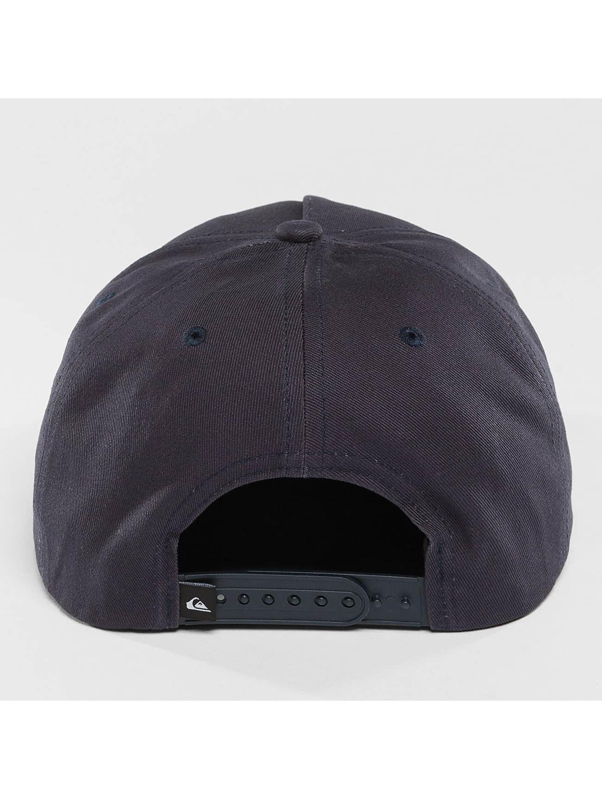Quiksilver Snapback Cap Mouthy blau