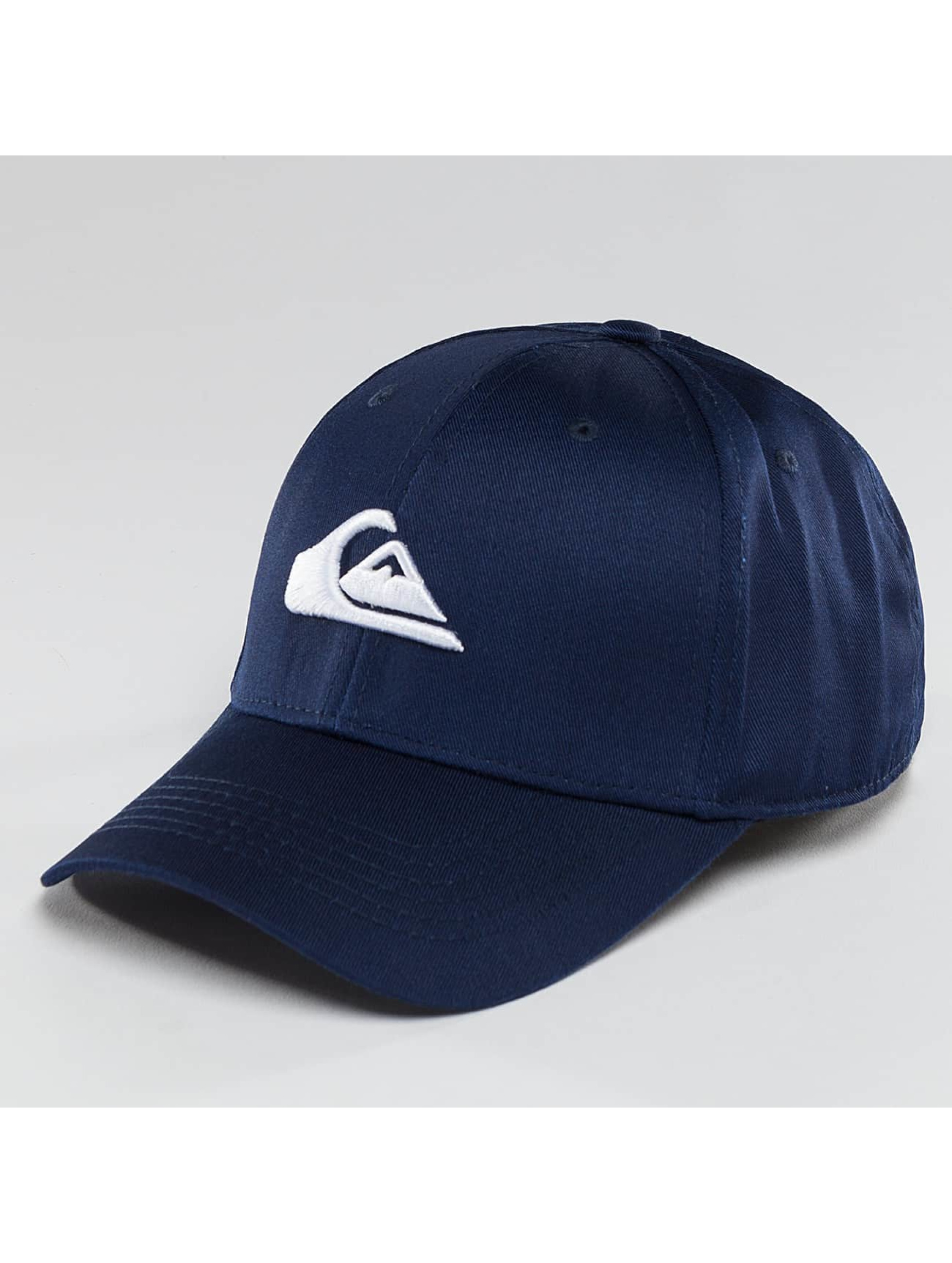 Quiksilver Snapback Cap Decades blue