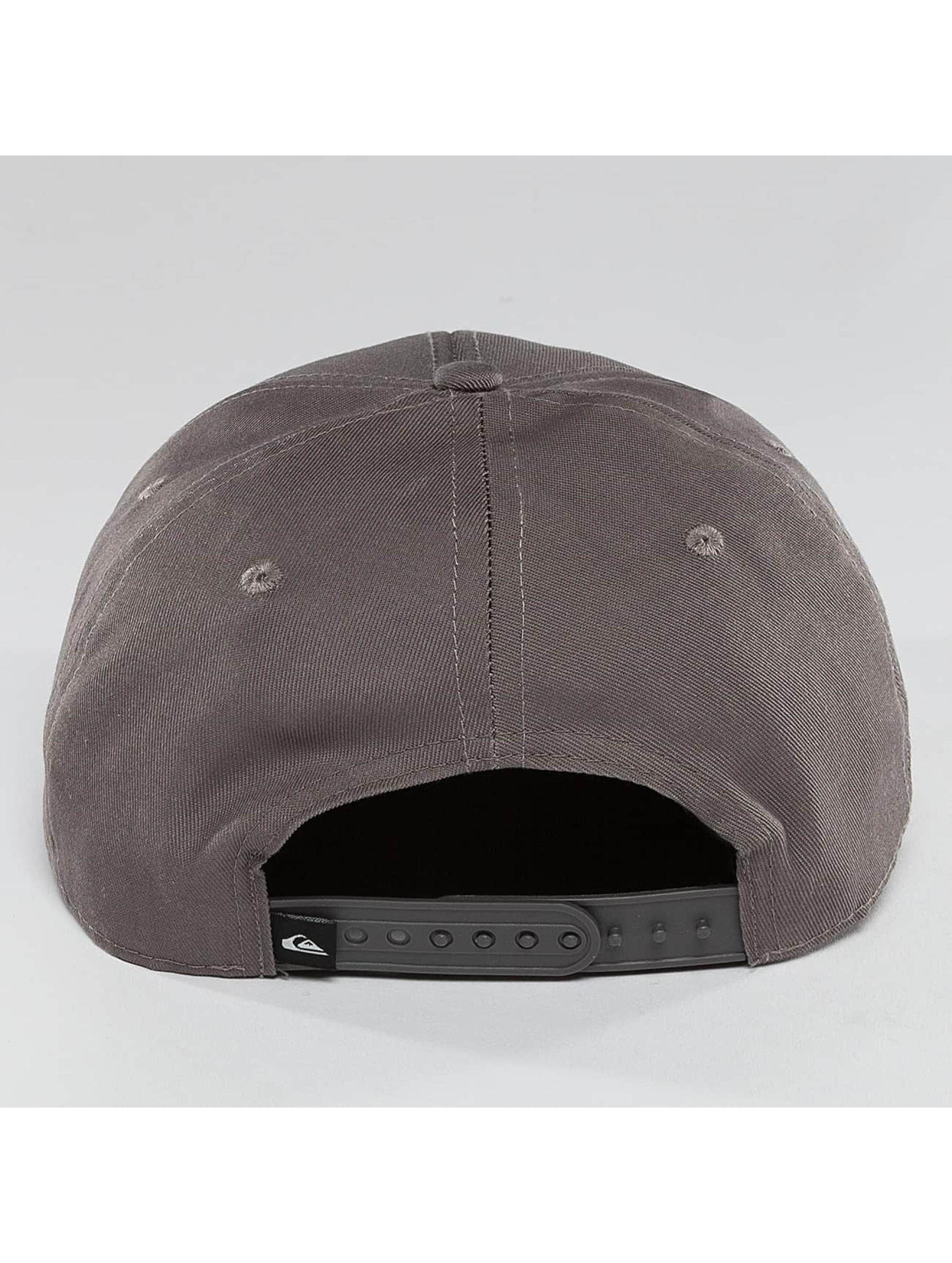 Quiksilver snapback cap Decades grijs