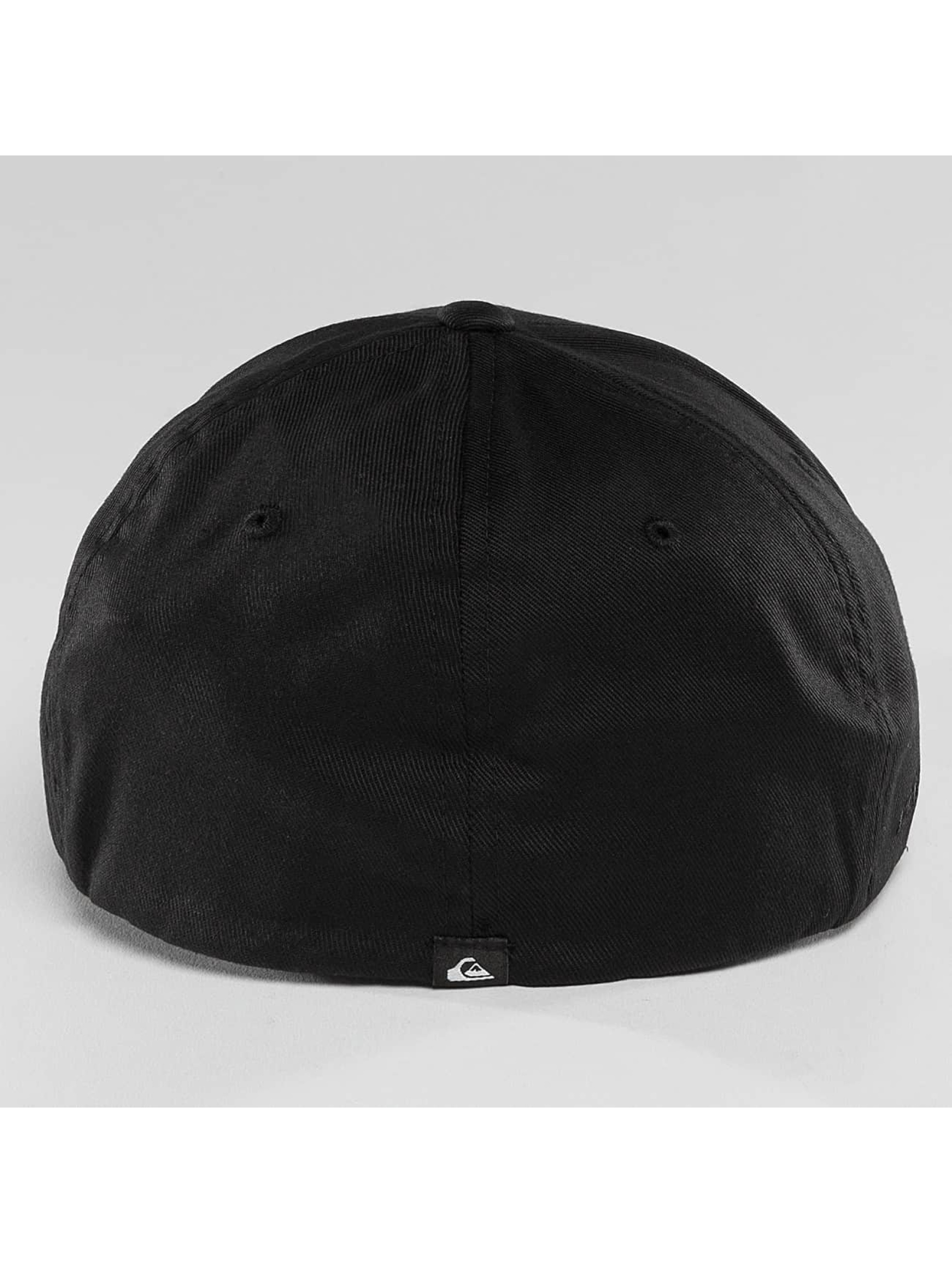 Quiksilver Snapback Cap Mountain And Wave nero