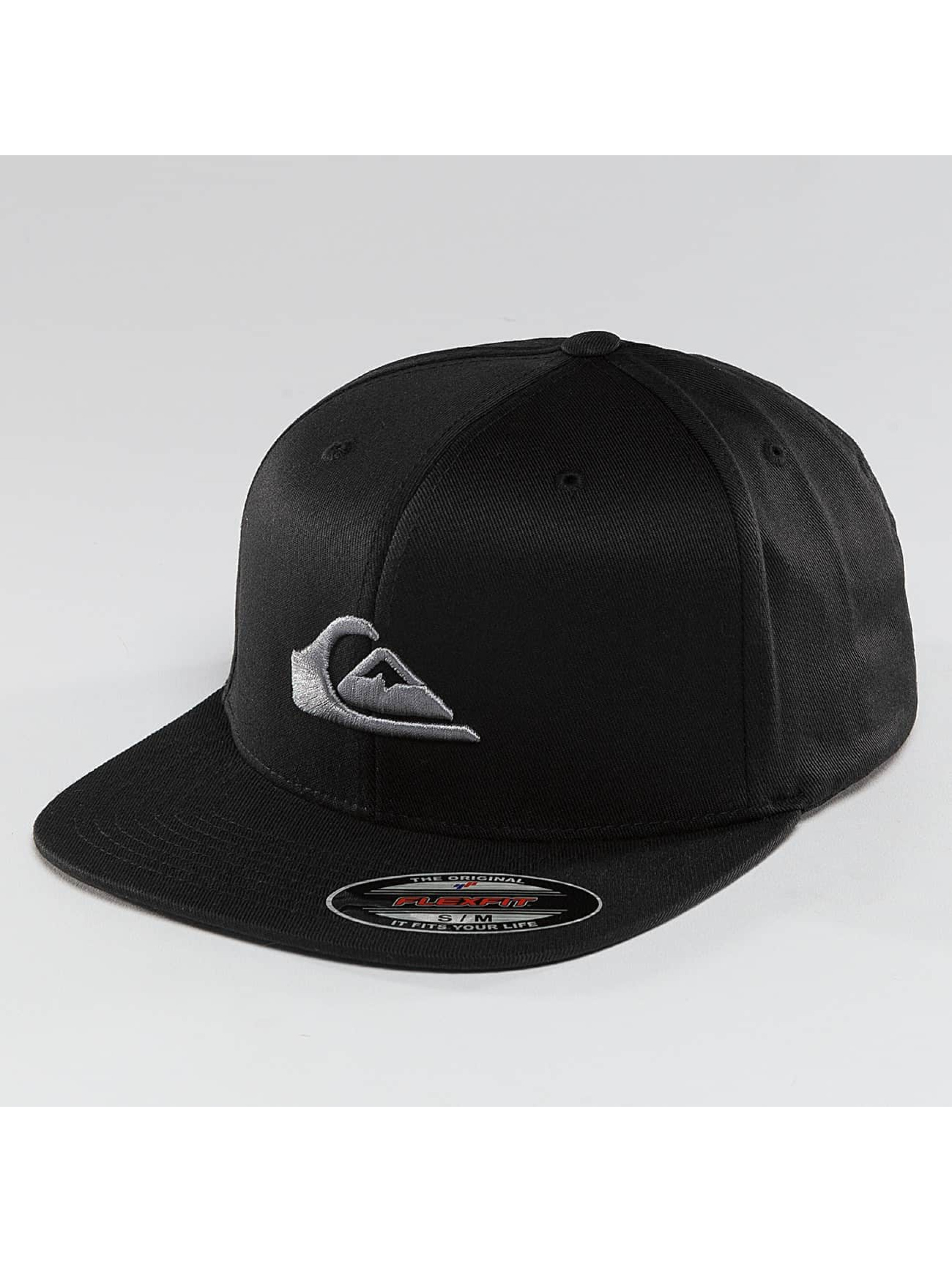 Quiksilver Snapback Caps Stuckles čern