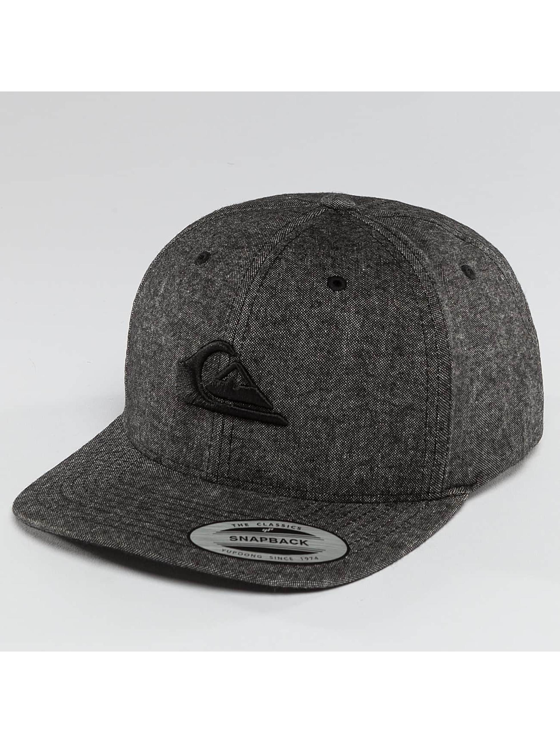 Quiksilver Snapback Caps Decades Plus šedá