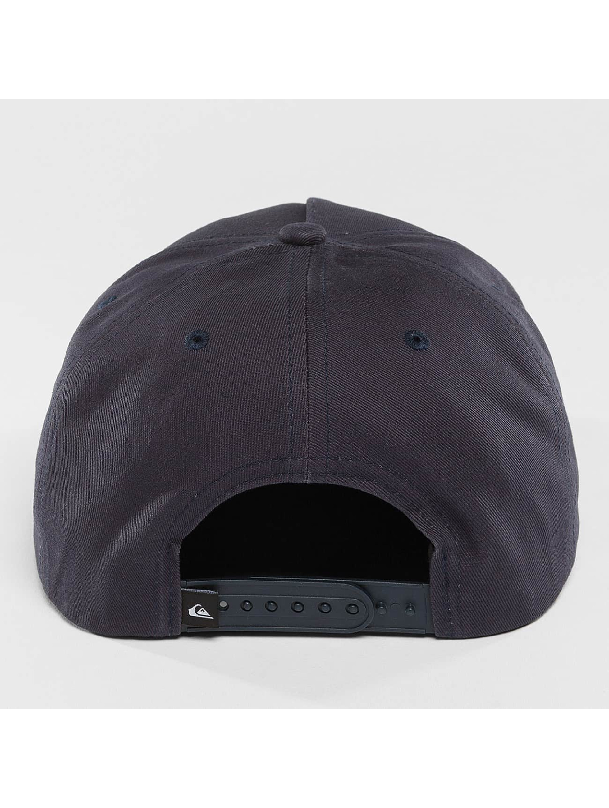 Quiksilver Snapback Caps Mouthy modrý