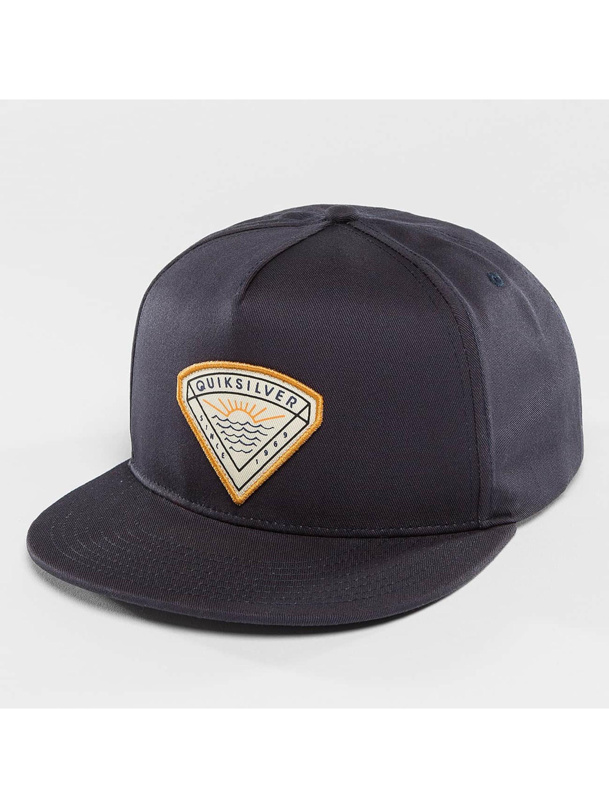 Quiksilver Snapback Caps Mouthy niebieski