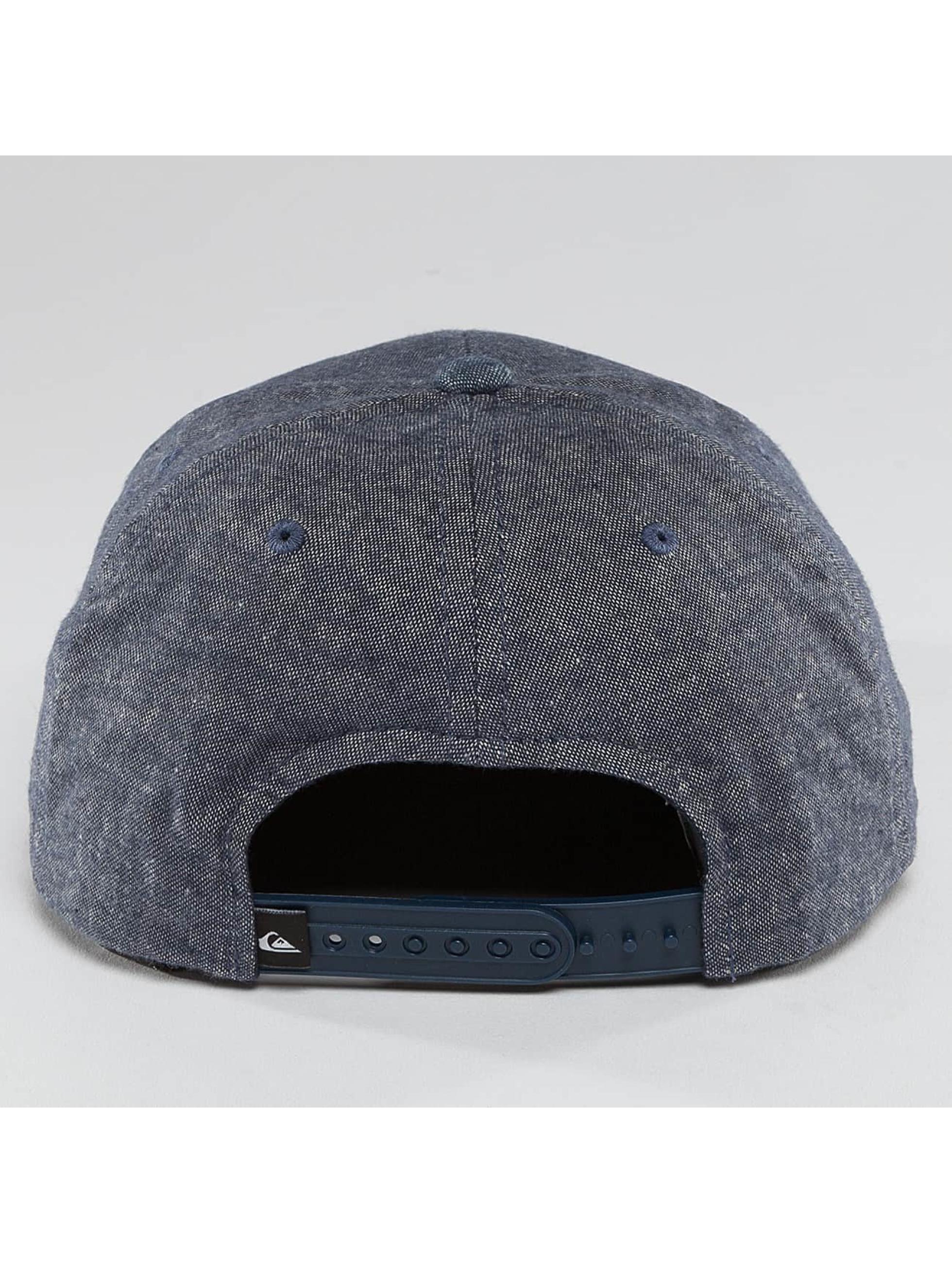 Quiksilver Snapback Caps Decades Plus niebieski