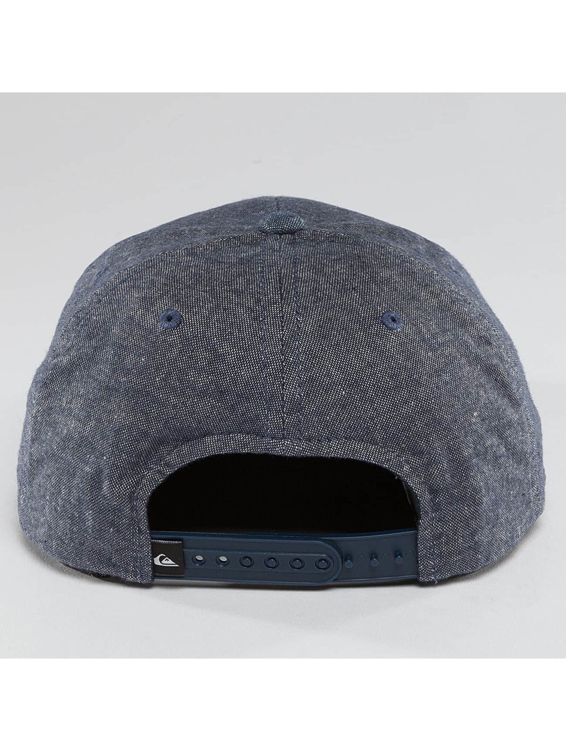 Quiksilver Snapback Caps Decades Plus sininen