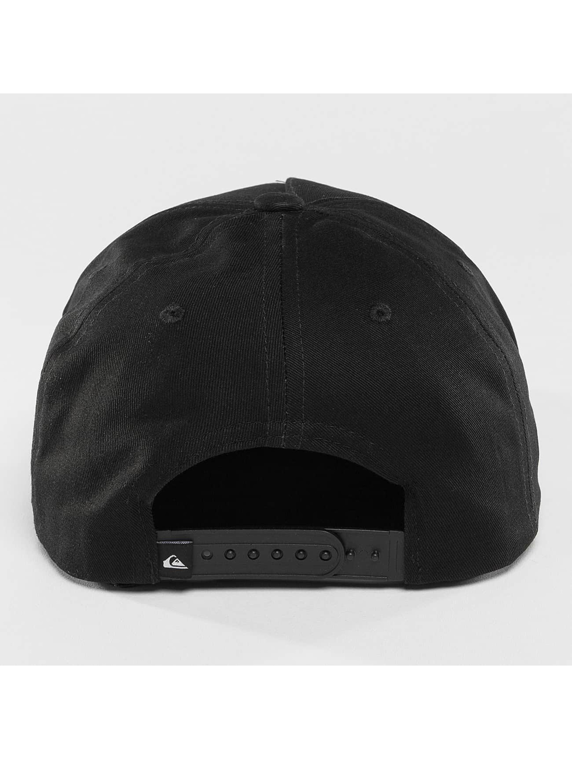 Quiksilver Snapback Caps Mouthy svart