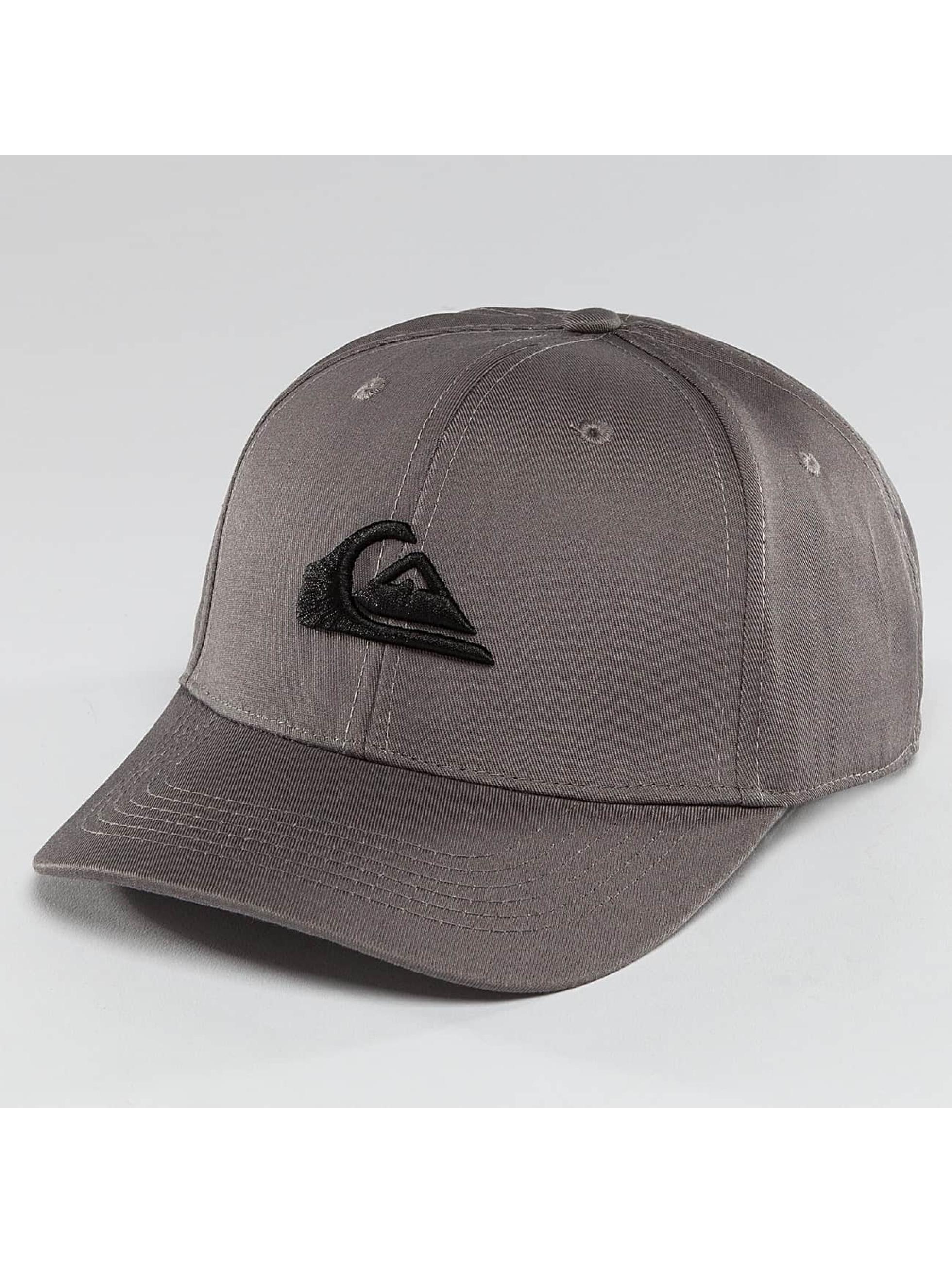 Quiksilver Snapback Caps Decades szary
