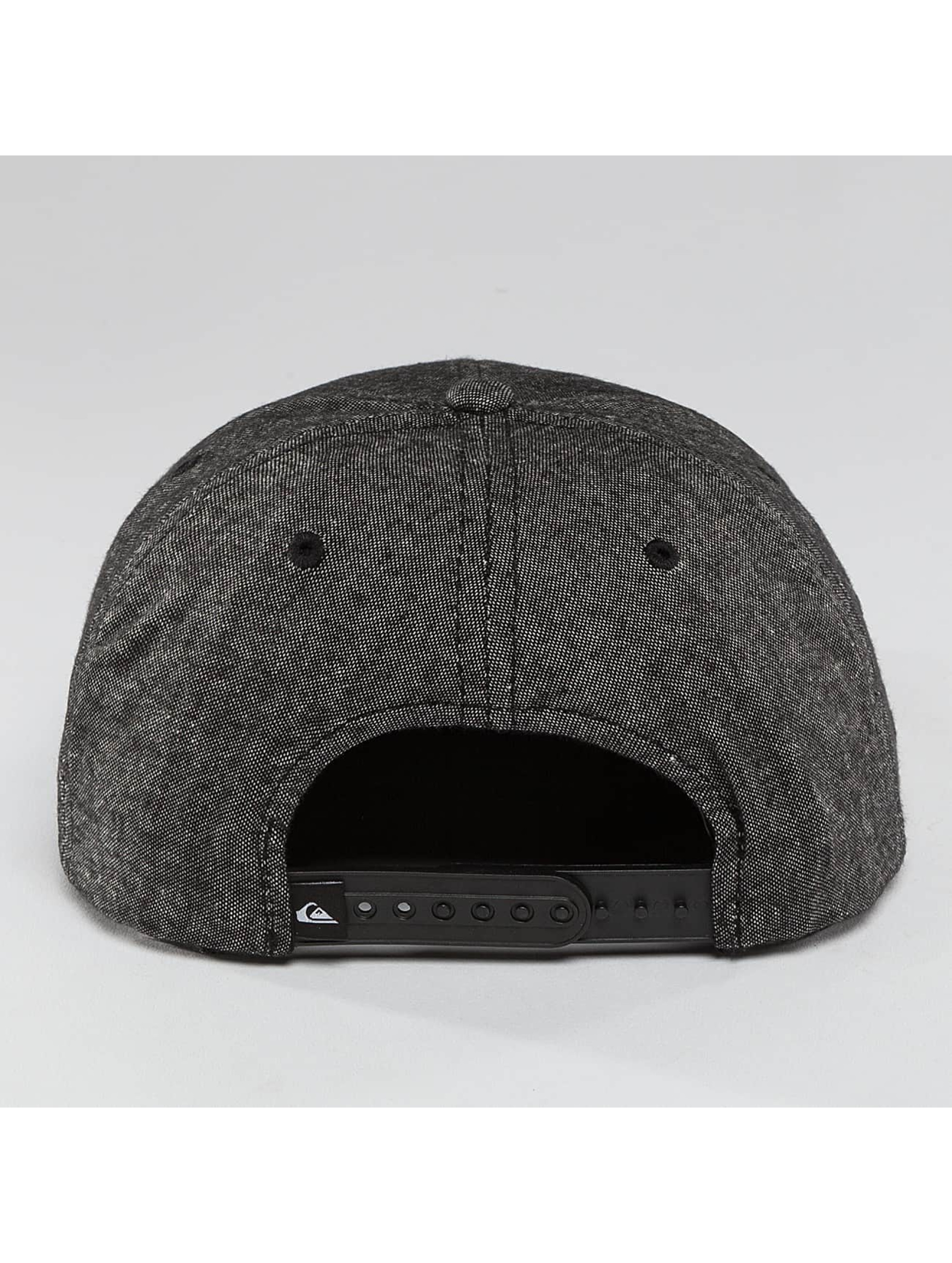 Quiksilver Snapback Caps Decades Plus szary