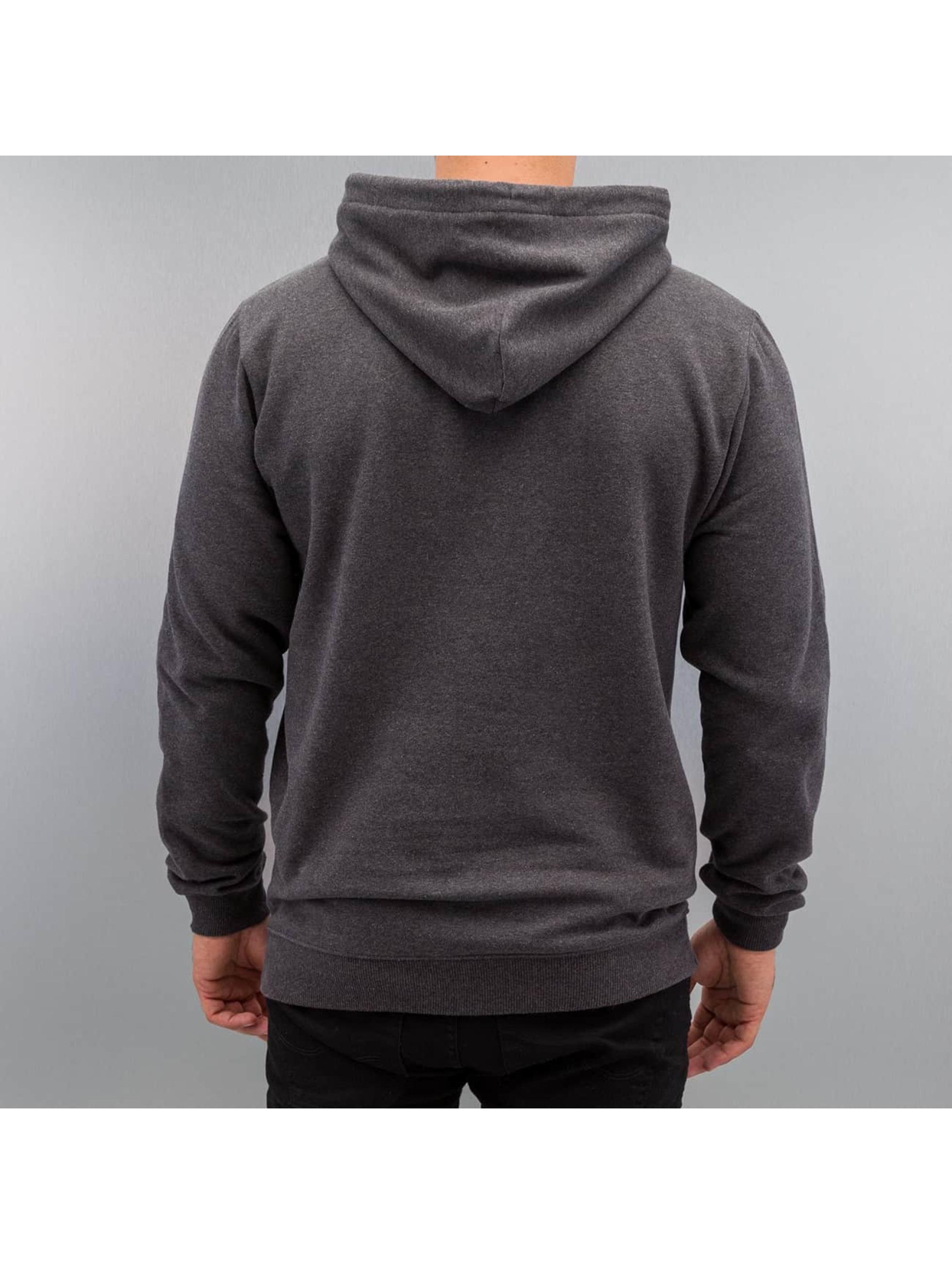 Quiksilver Sweat capuche Big Logo gris