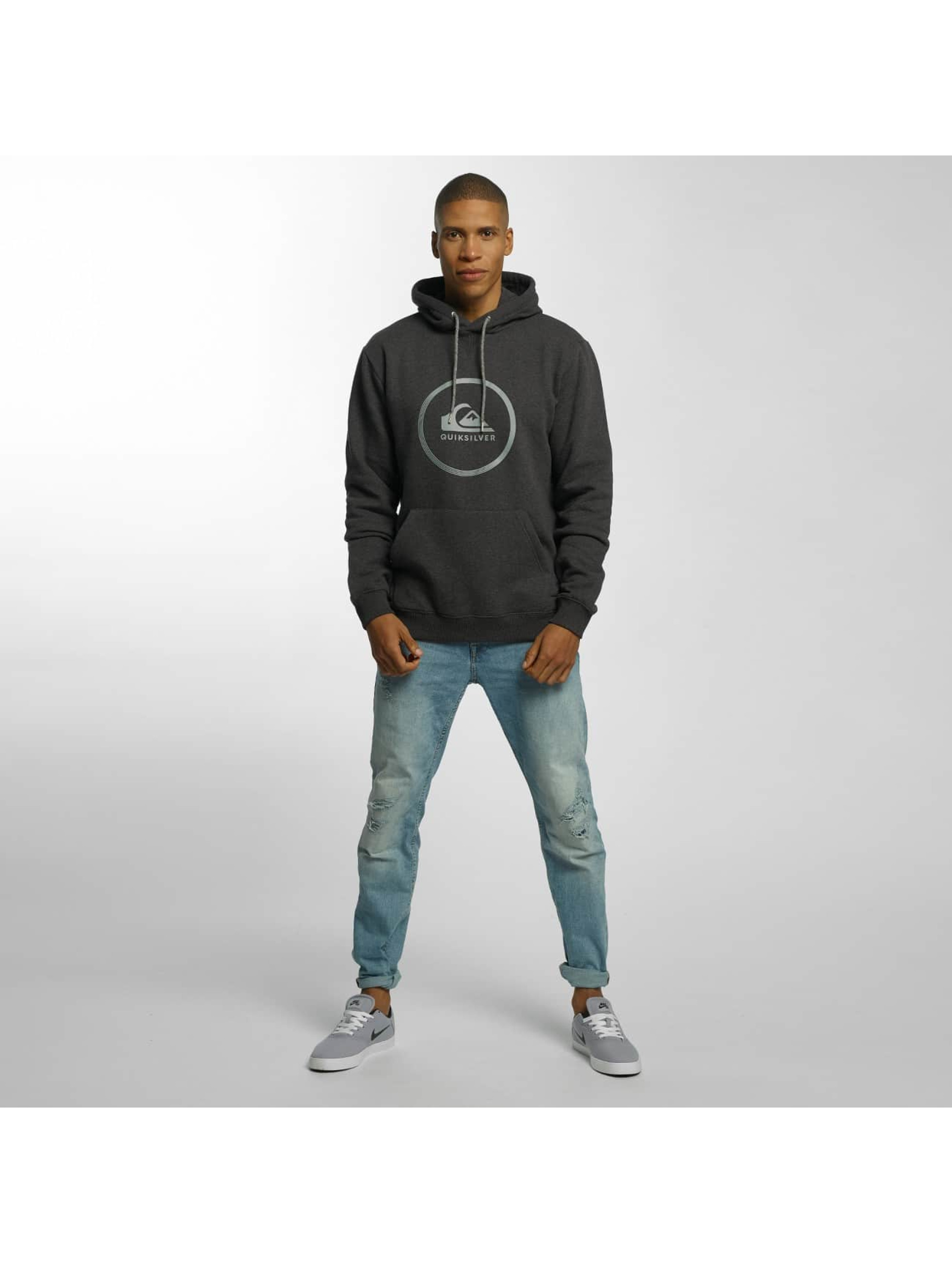 Quiksilver Sweat capuche Big Logo gris