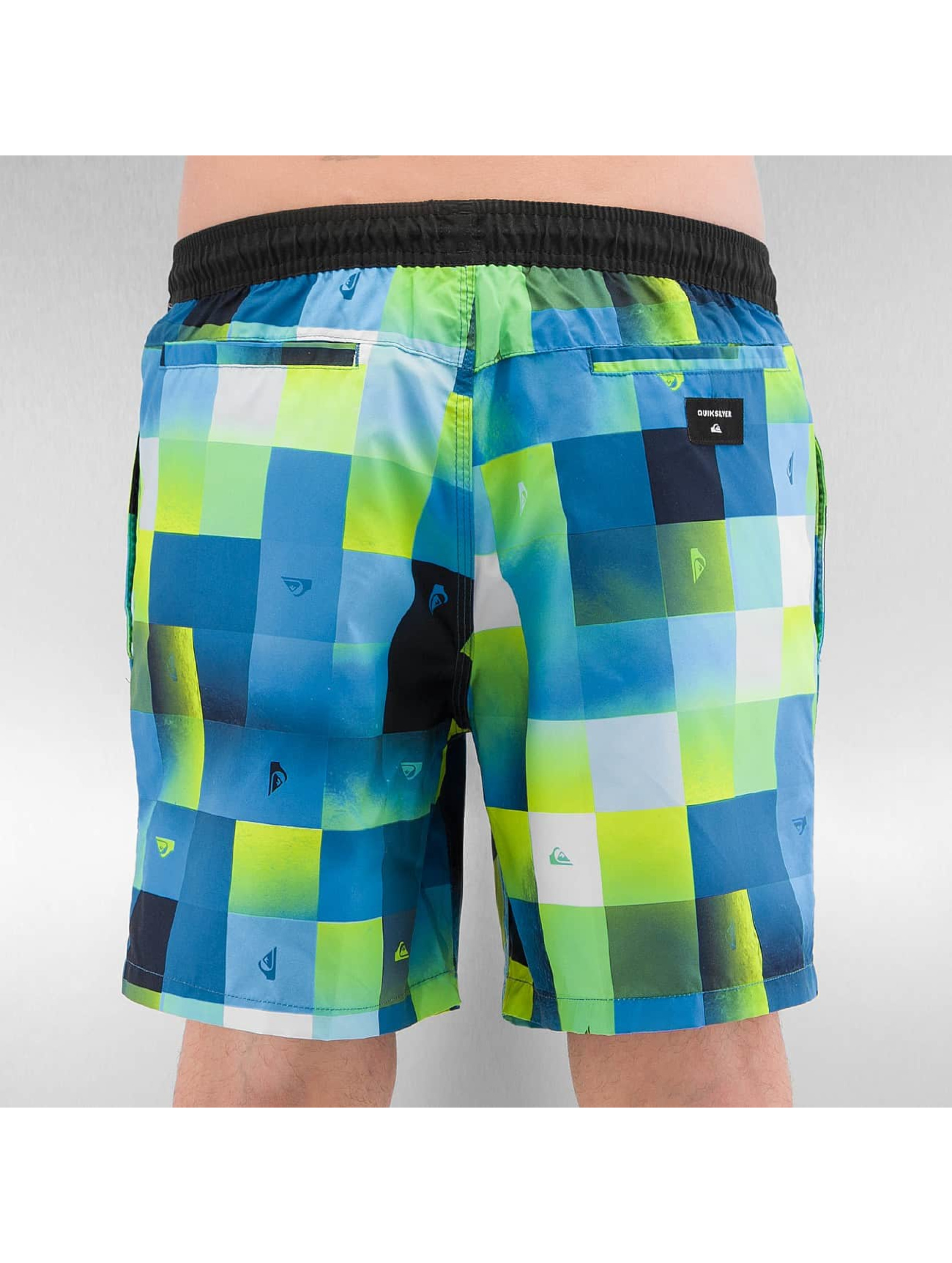 Quiksilver Swim shorts Check Mark Volley 17 blue
