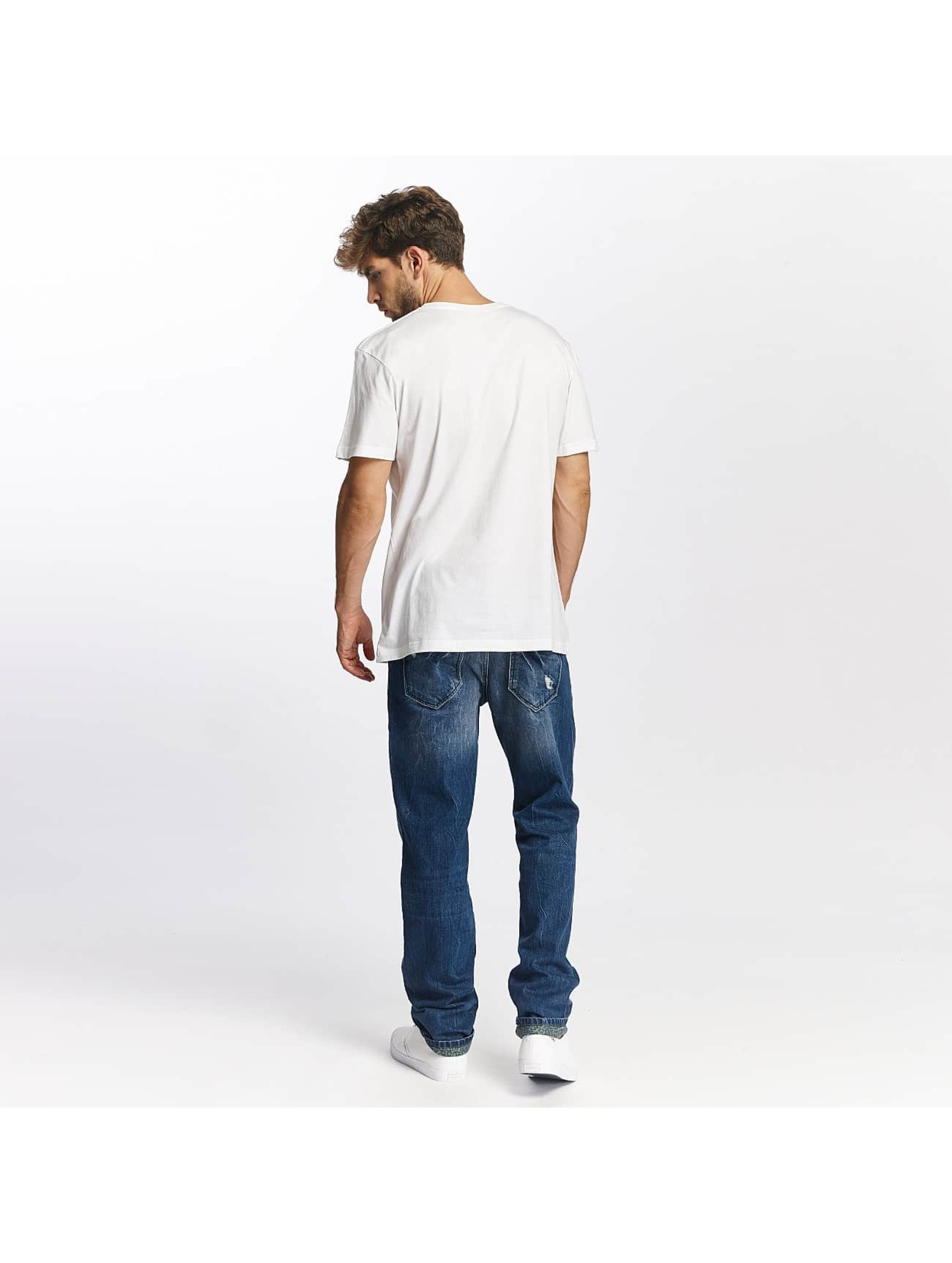 Quiksilver T-shirt Classic Coast Lines bianco
