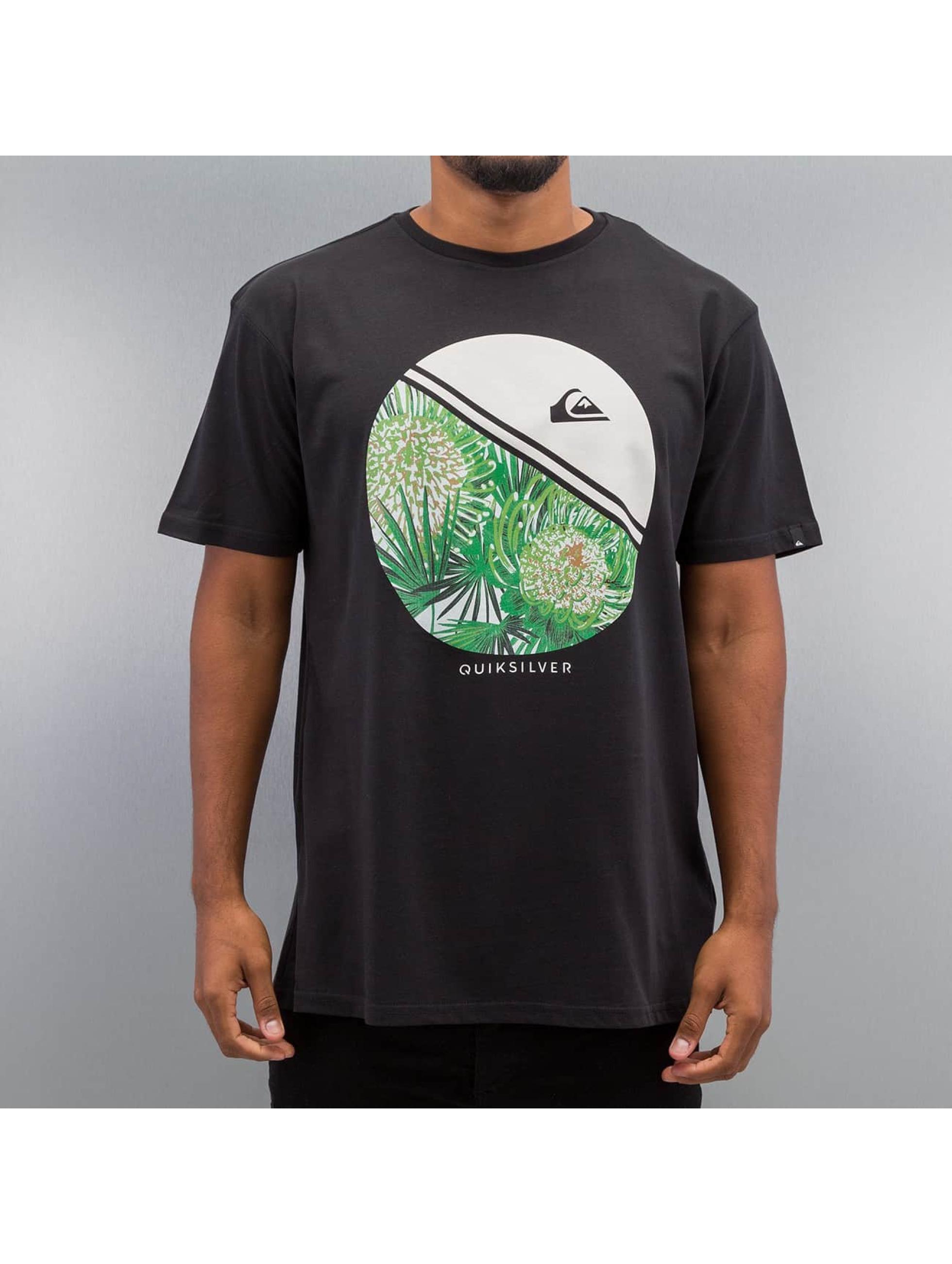 Quiksilver T-Shirt Free Wheelin black