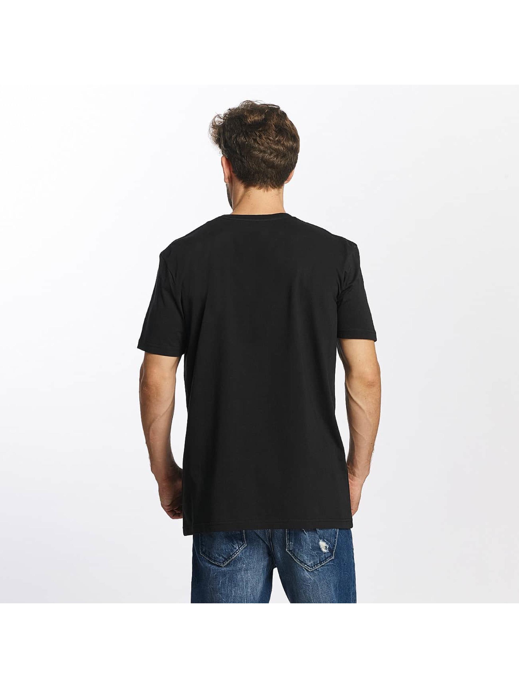 Quiksilver T-Shirt Classic Coast Lines black