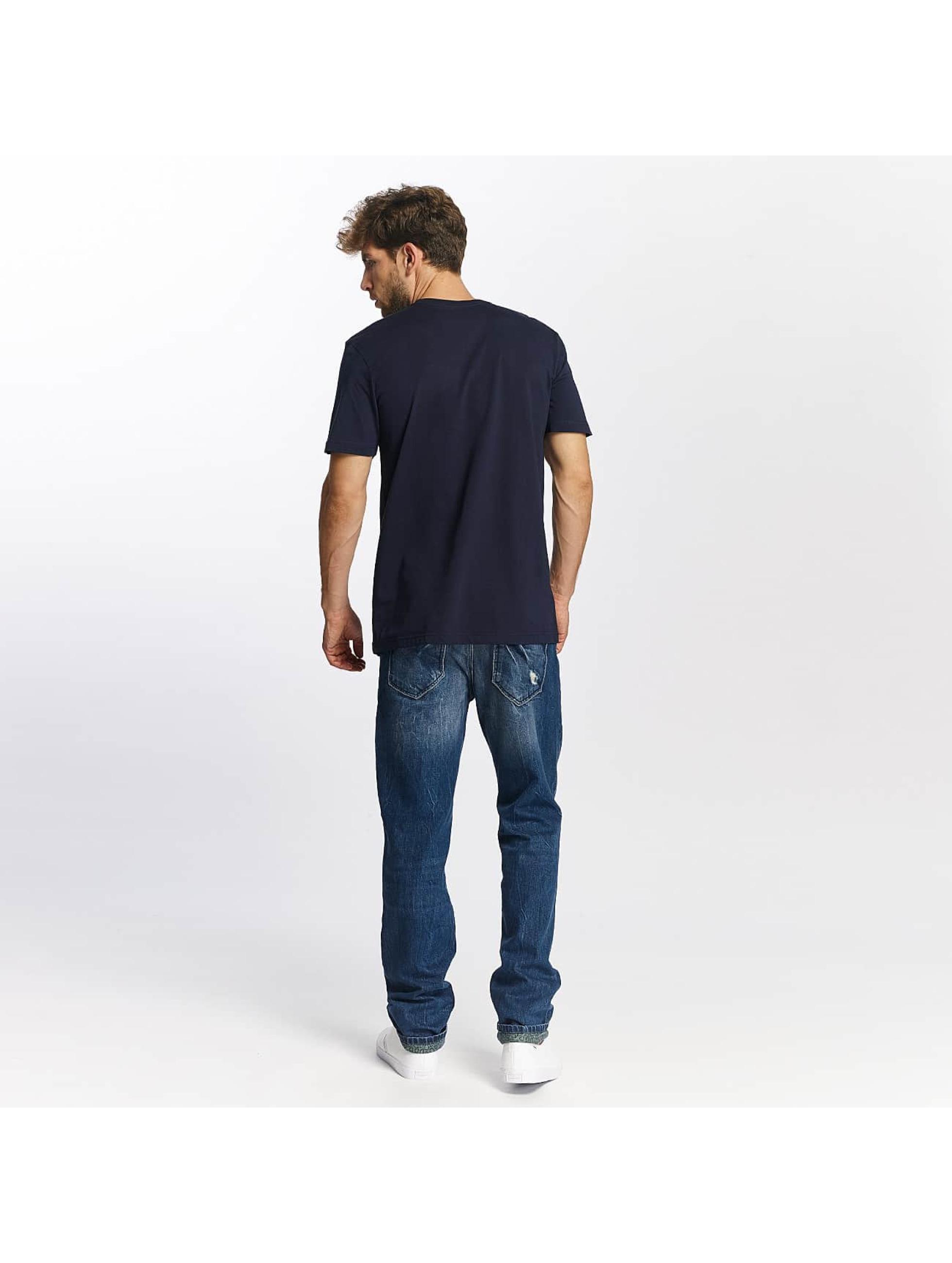 Quiksilver t-shirt Classic Meridian blauw