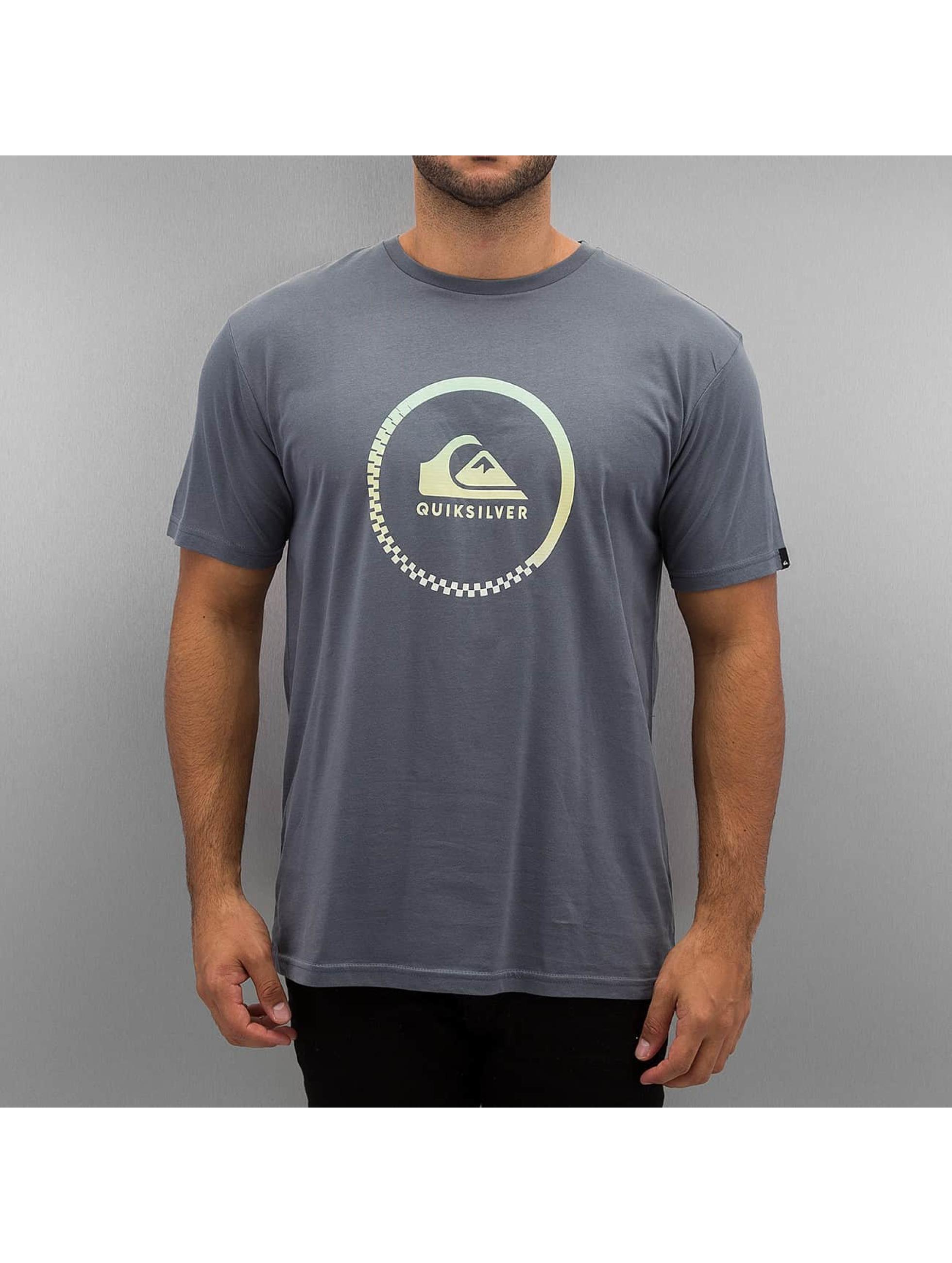 Quiksilver T-Shirt Active Logo bleu