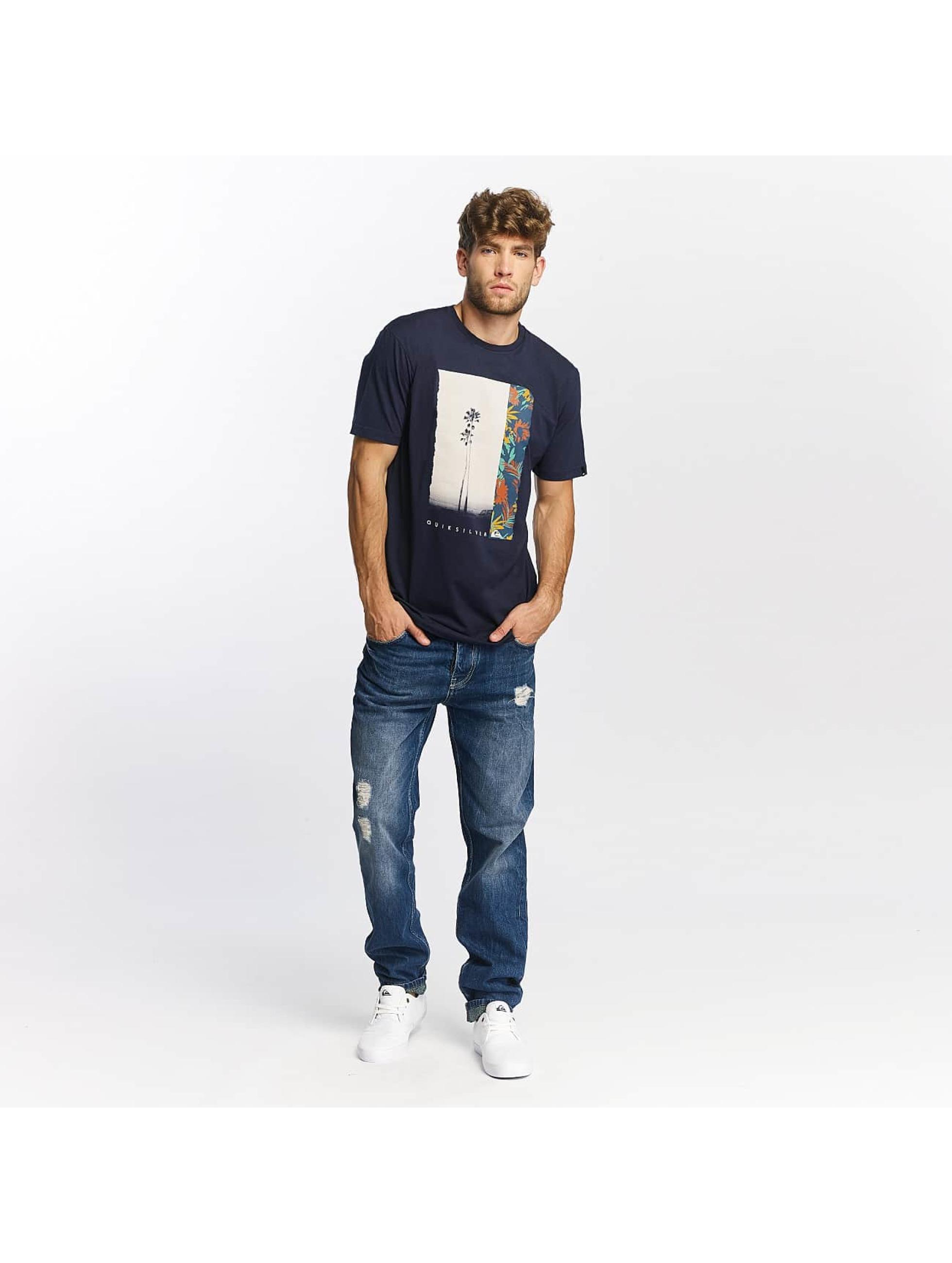 Quiksilver T-Shirt Classic Meridian bleu