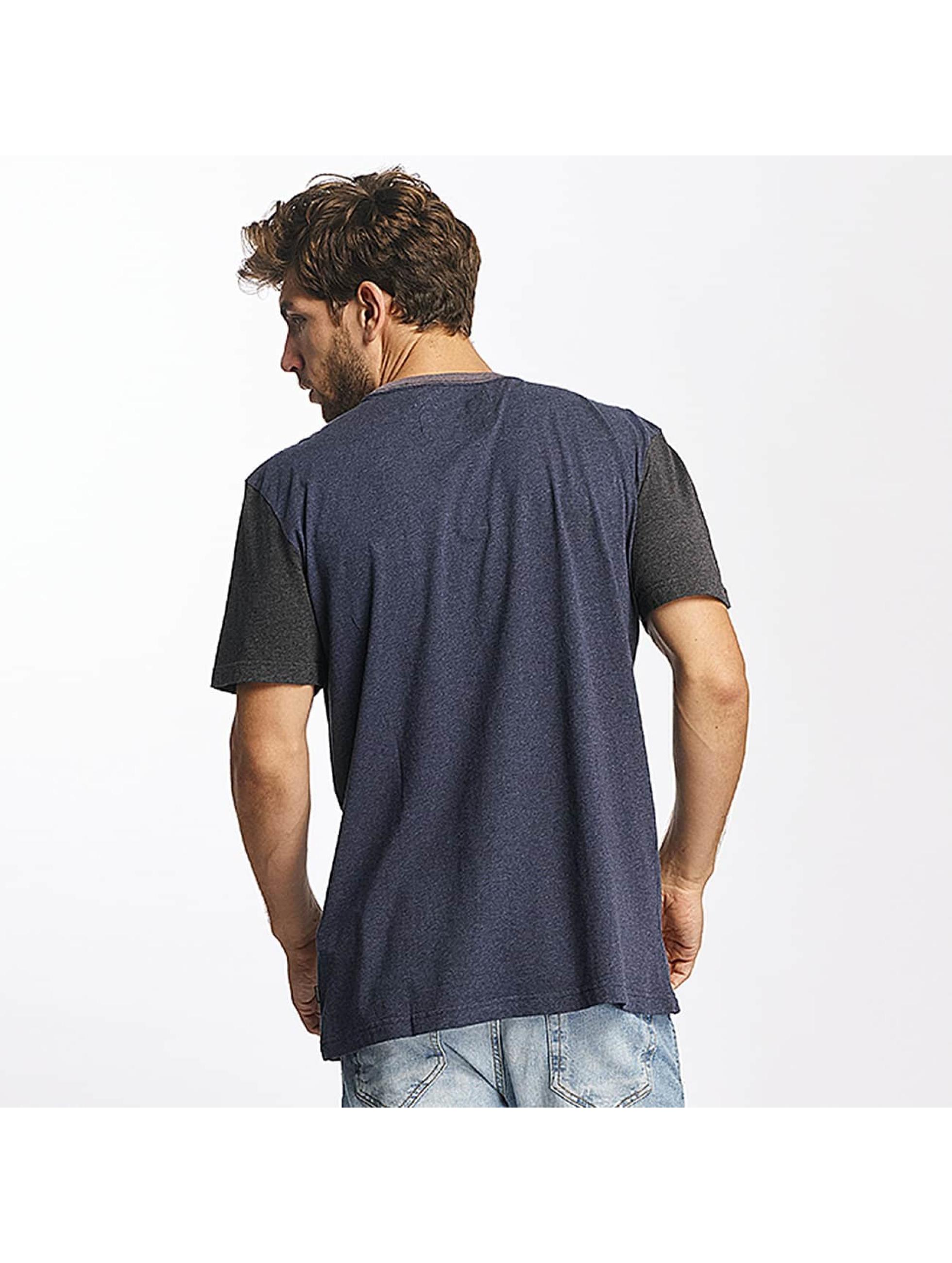 Quiksilver T-Shirt Baysic Pocket blue