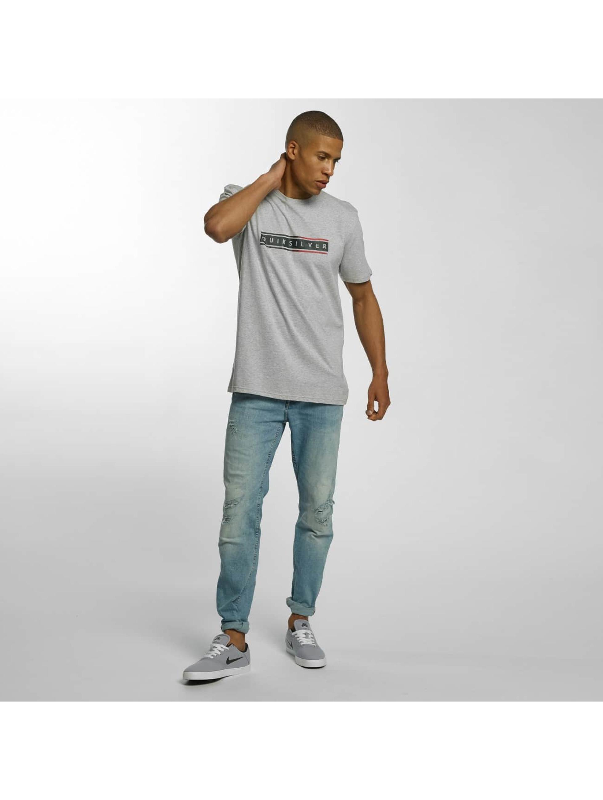 Quiksilver T-Shirt Classic Daily Surf gris