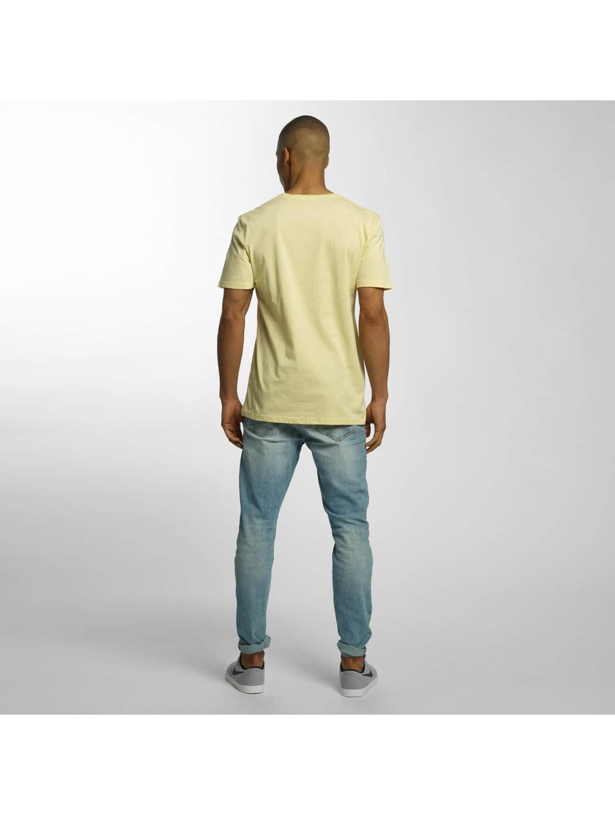 Quiksilver T-Shirt Classic Sea Tales jaune