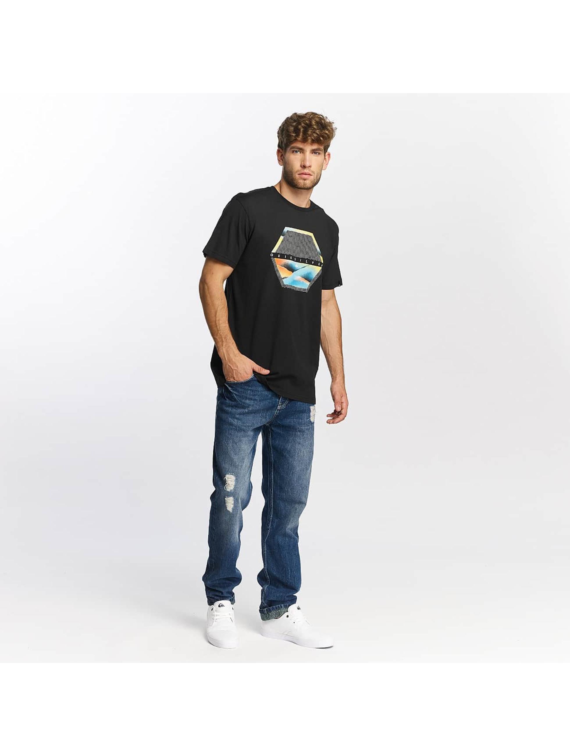Quiksilver T-Shirt Classic Comfort Place noir