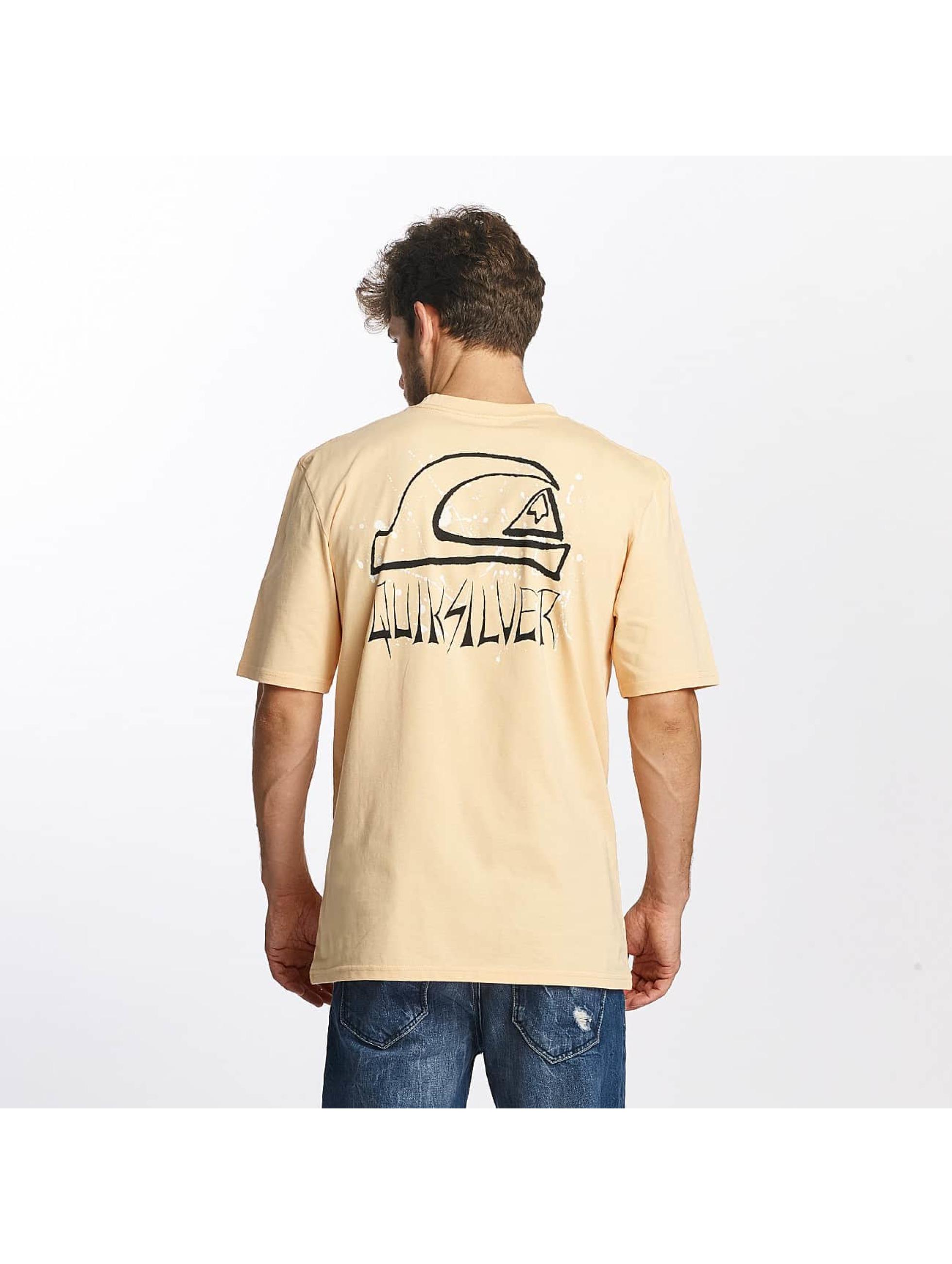 Quiksilver t-shirt Neon Tendencies oranje