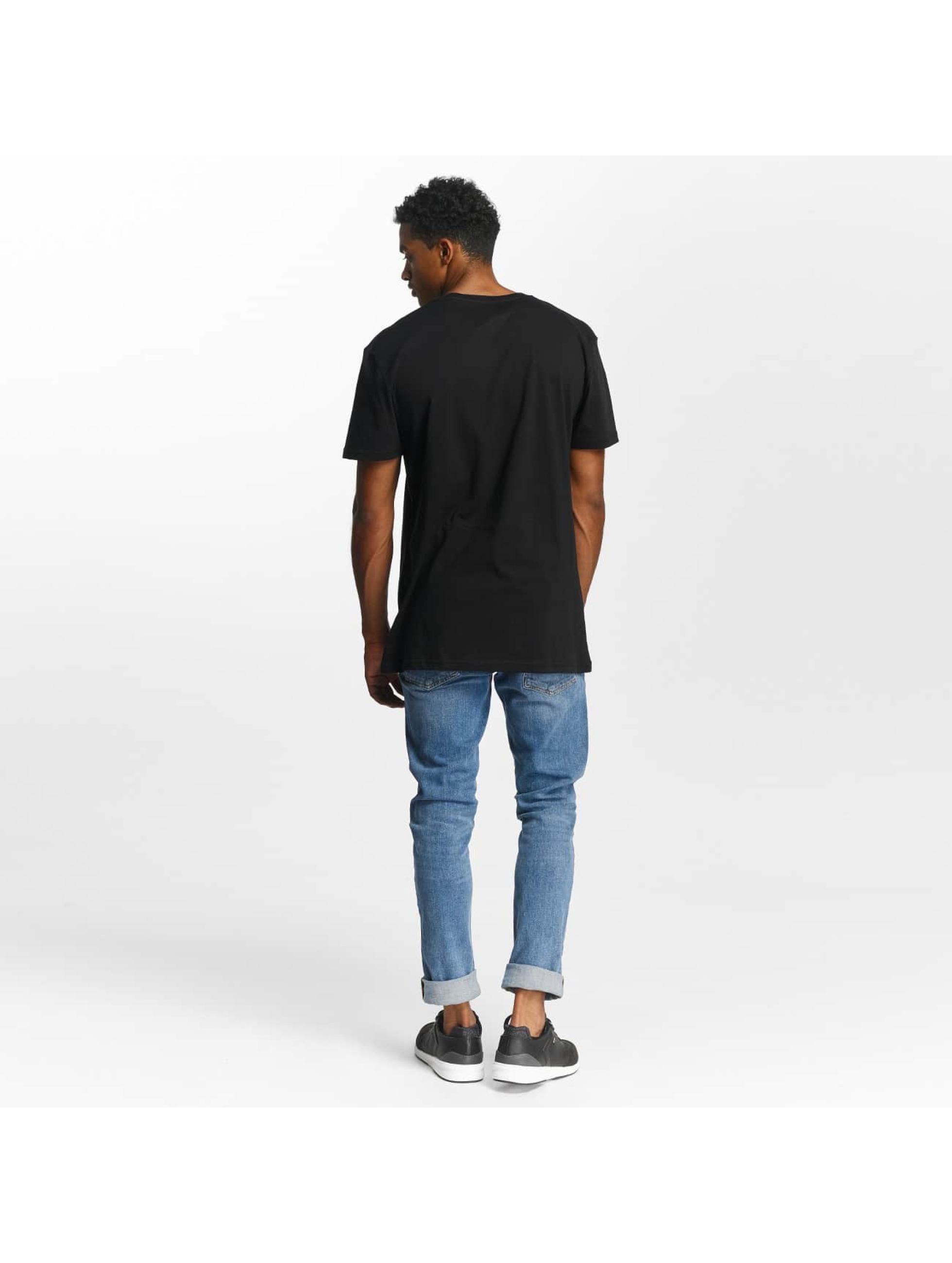 Quiksilver T-Shirt Premium East Stacked schwarz