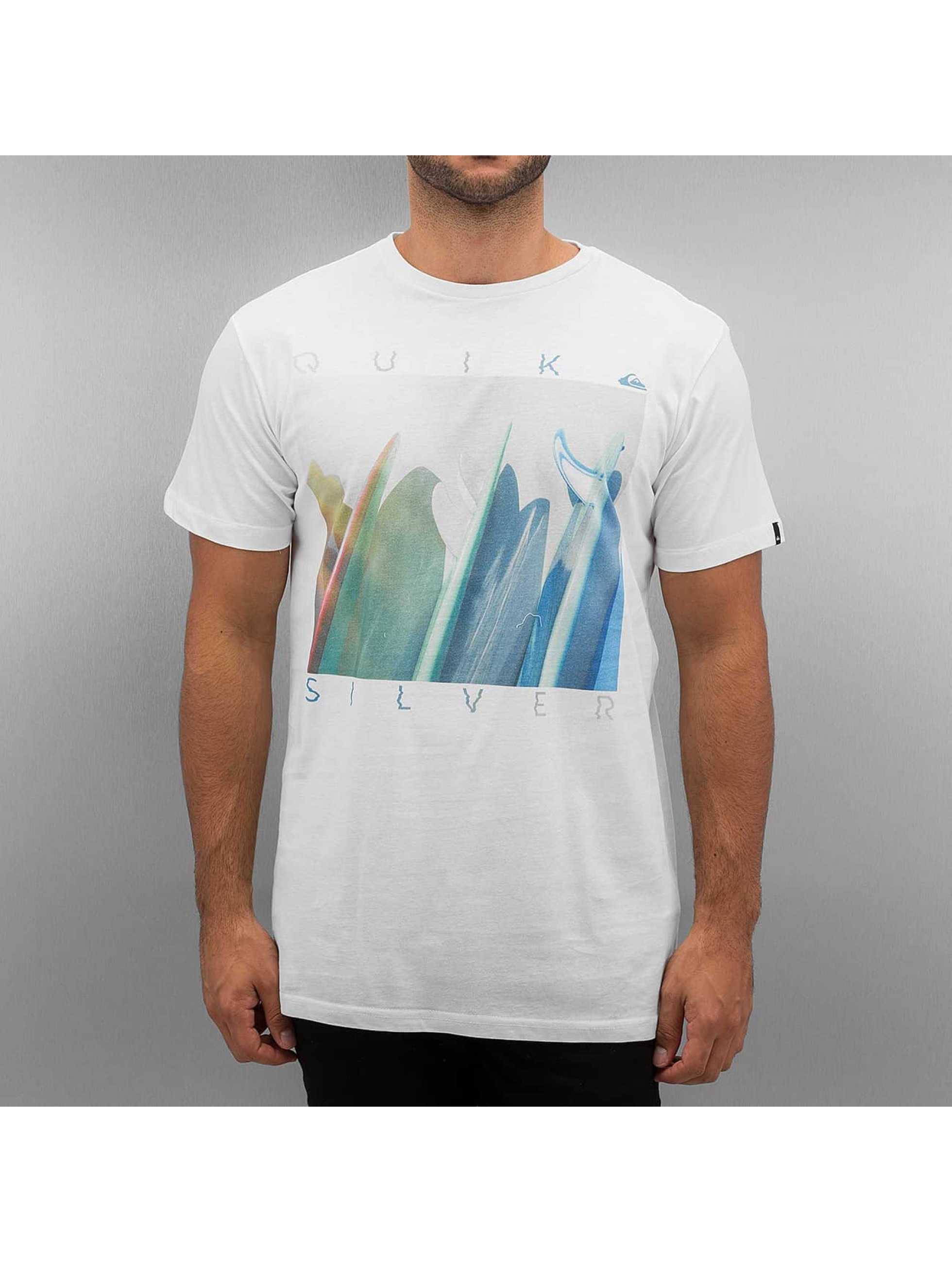 Quiksilver T-shirt Classic Mugshot vit