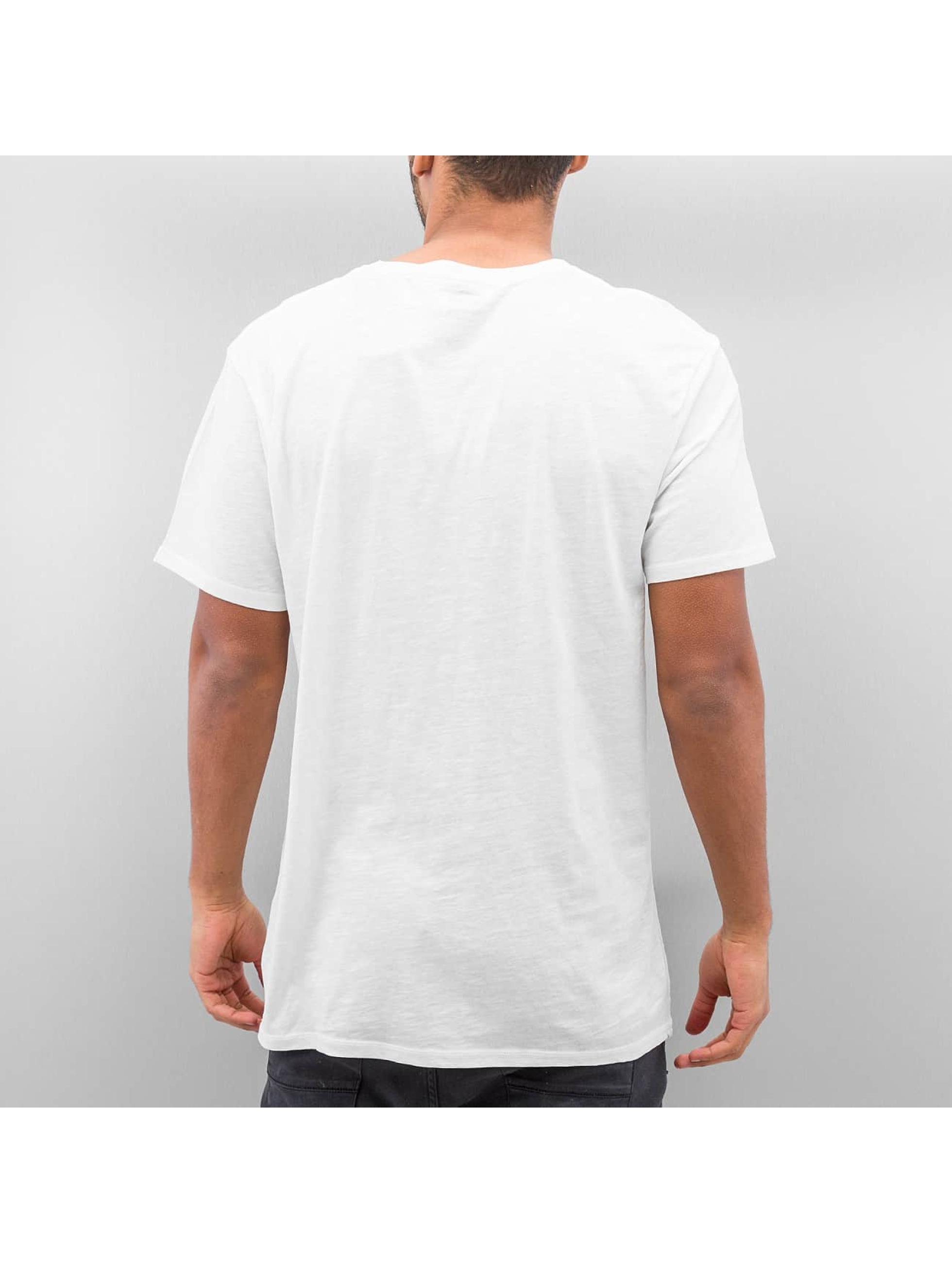 Quiksilver T-Shirt Slub Split Screen weiß