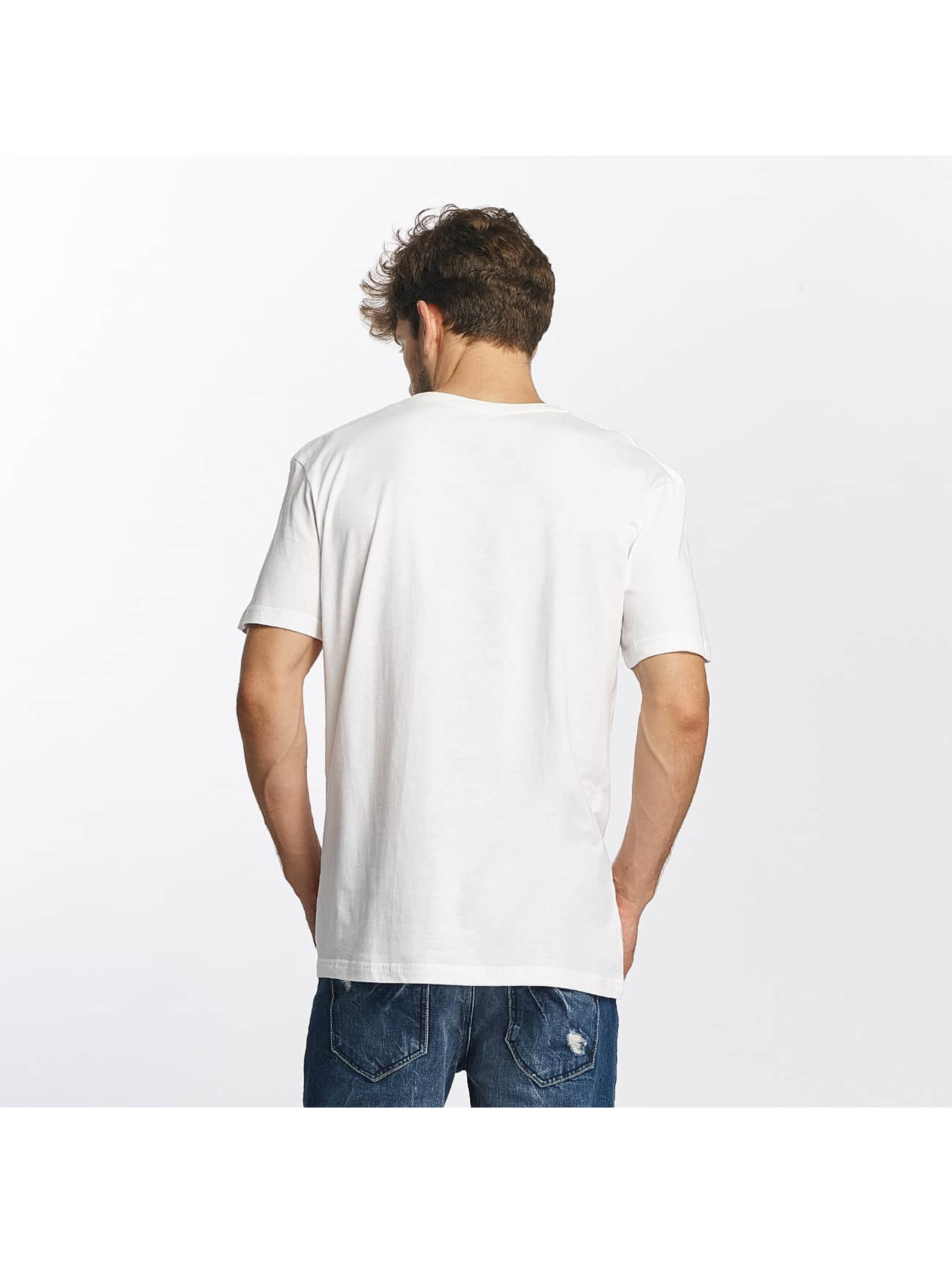 Quiksilver T-Shirt Classic Coast Lines weiß