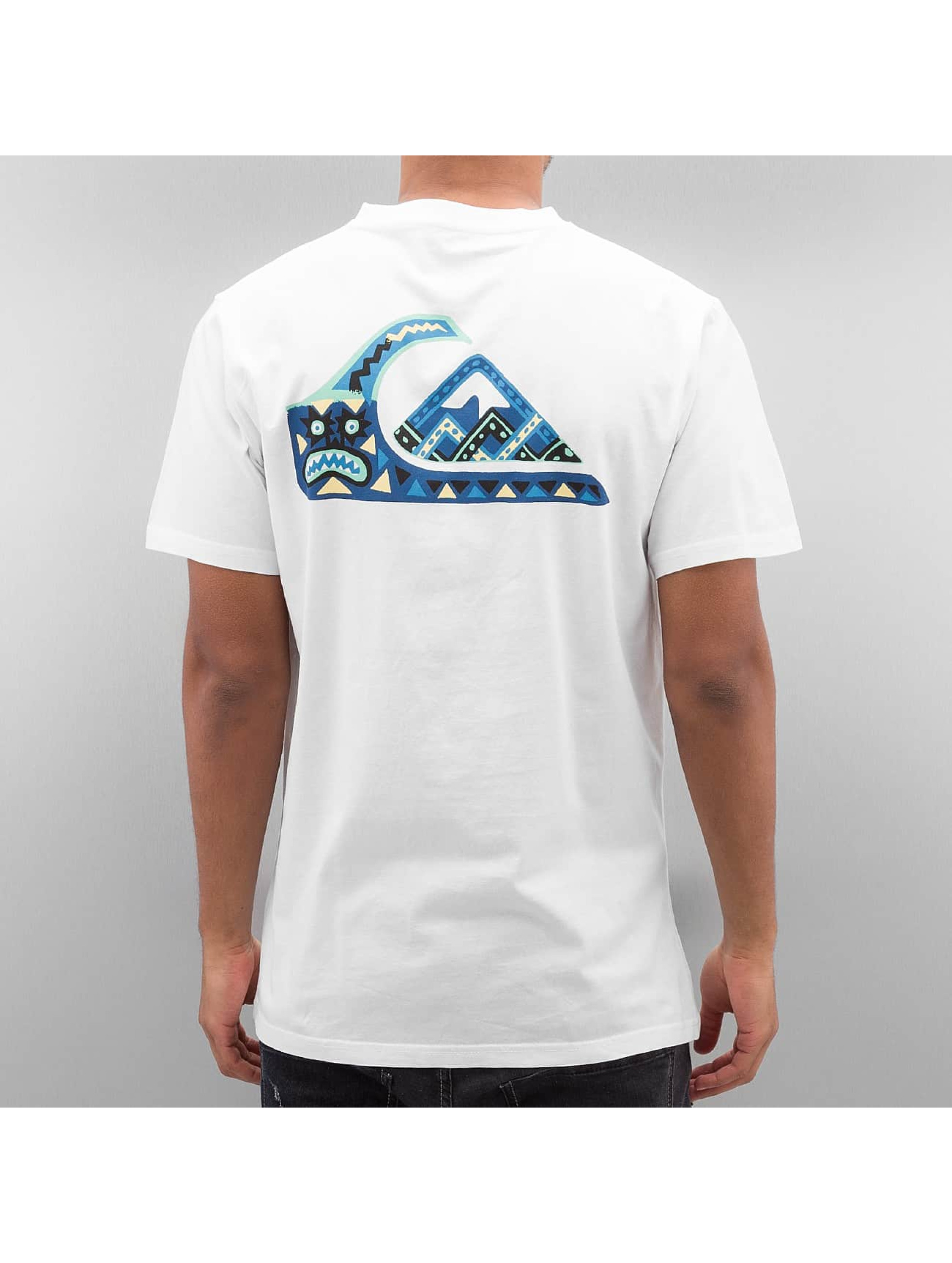 Quiksilver T-Shirt Boogey Mansst white