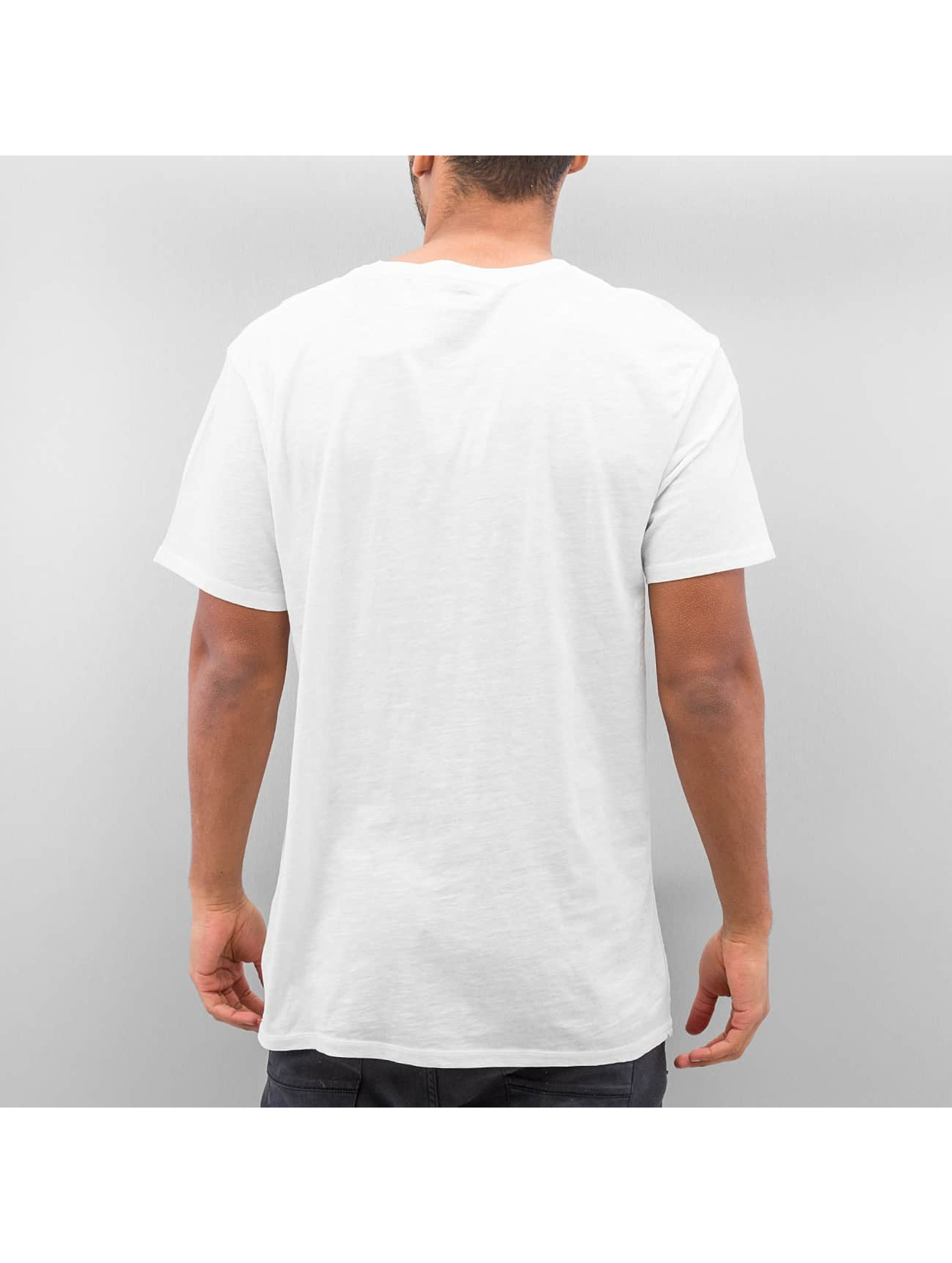 Quiksilver t-shirt Slub Split Screen wit