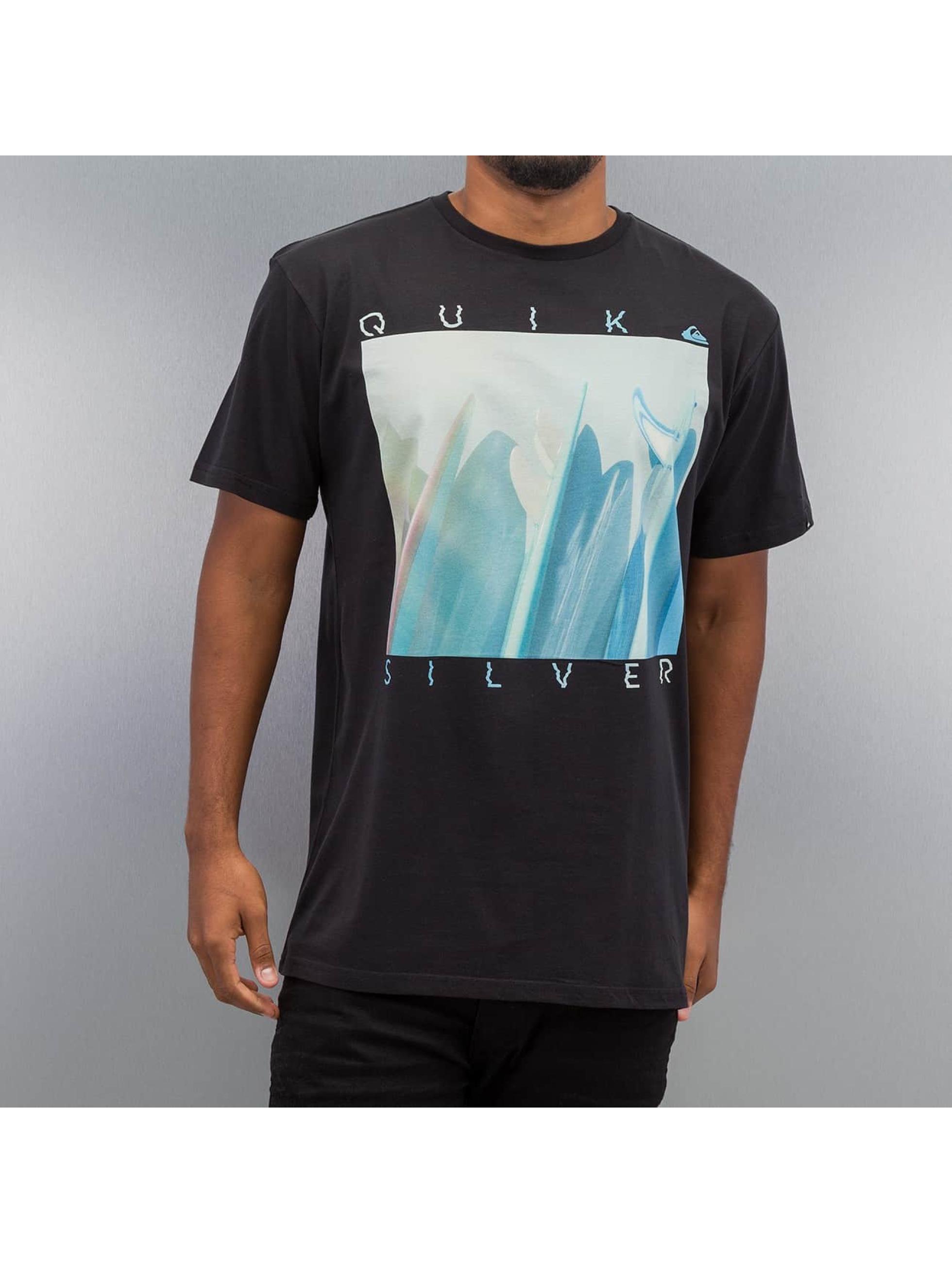 Quiksilver t-shirt Mugshot zwart