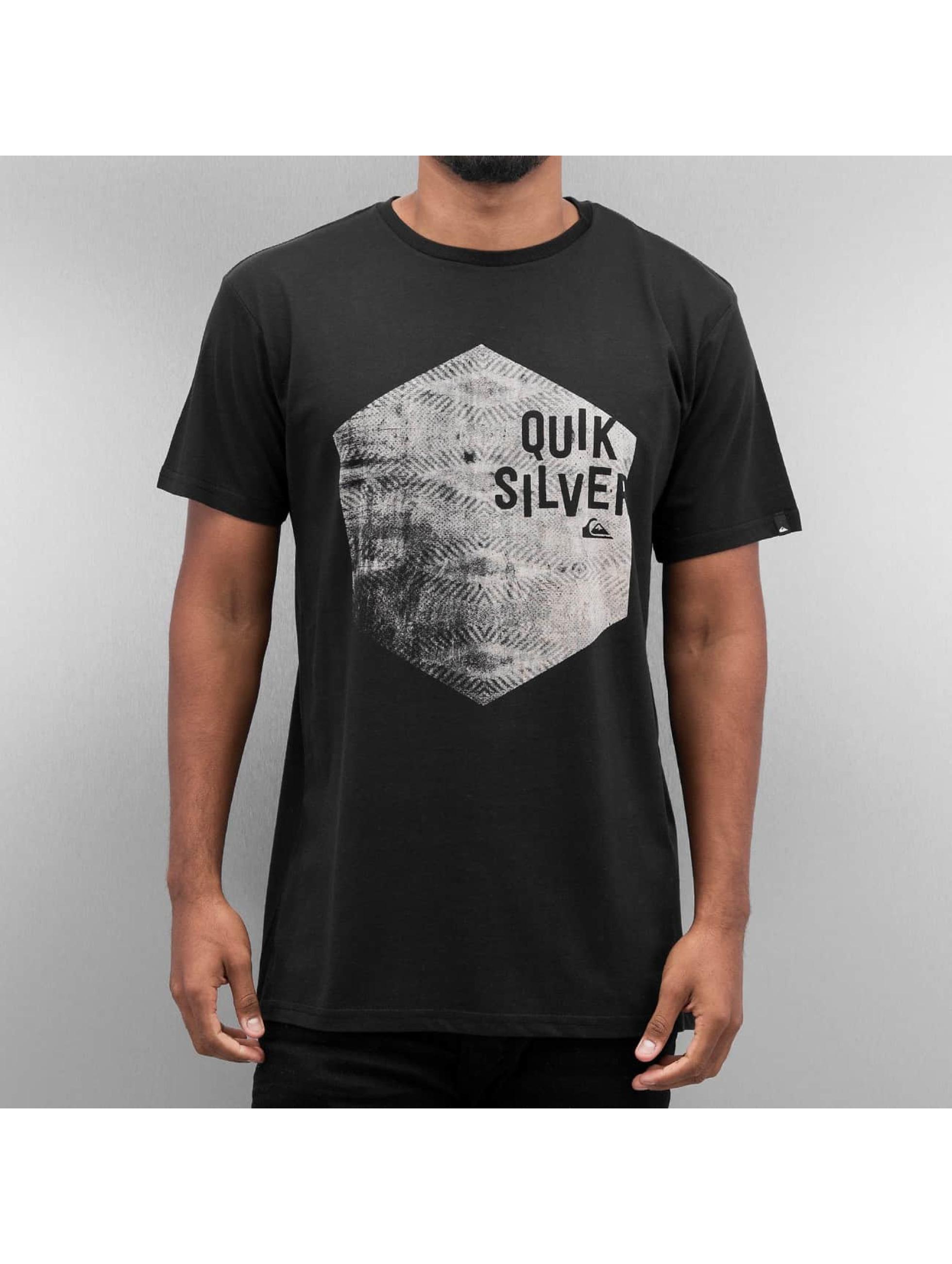 Quiksilver t-shirt Jumbled zwart