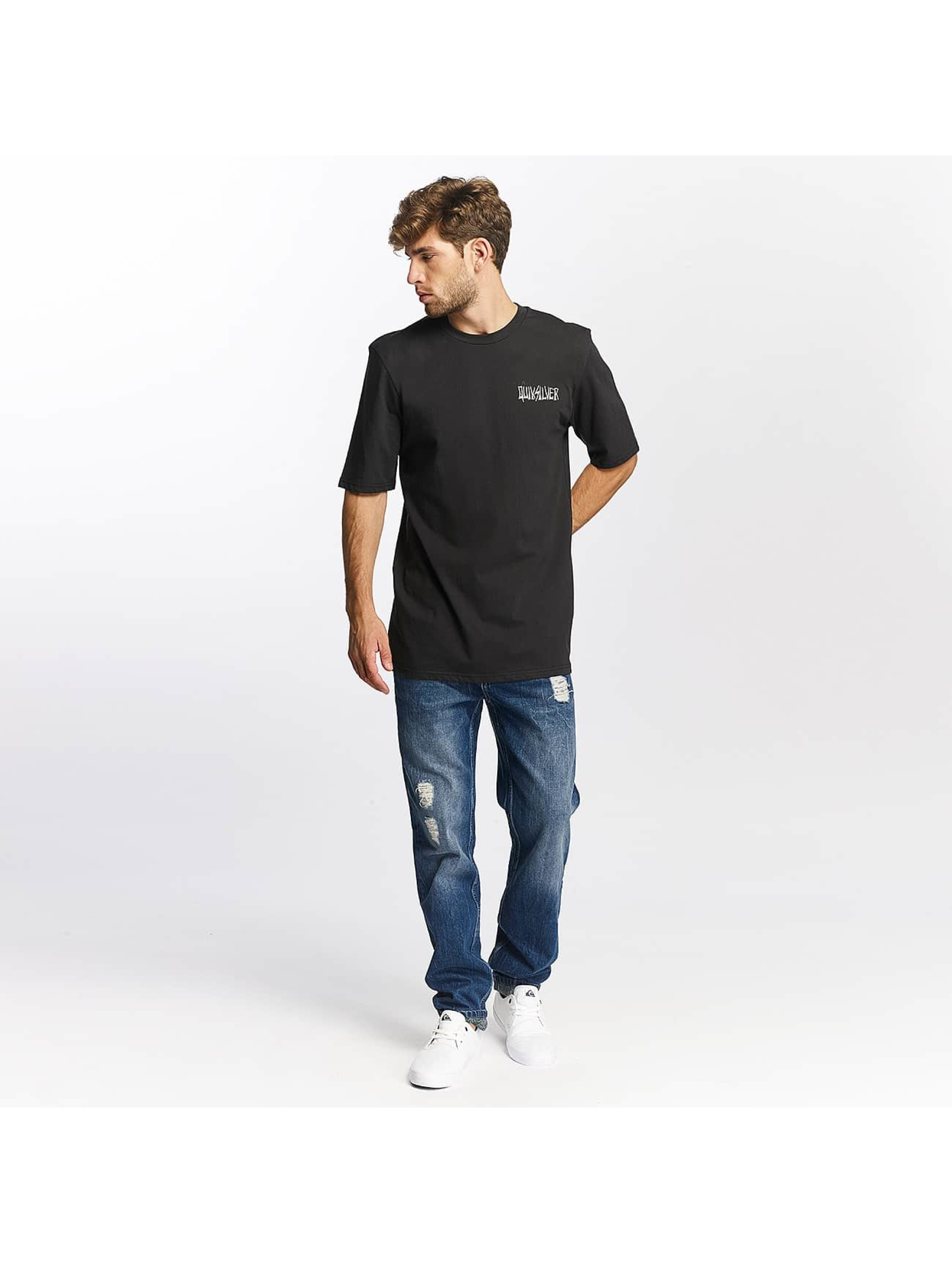 Quiksilver t-shirt Neon Tendencies zwart