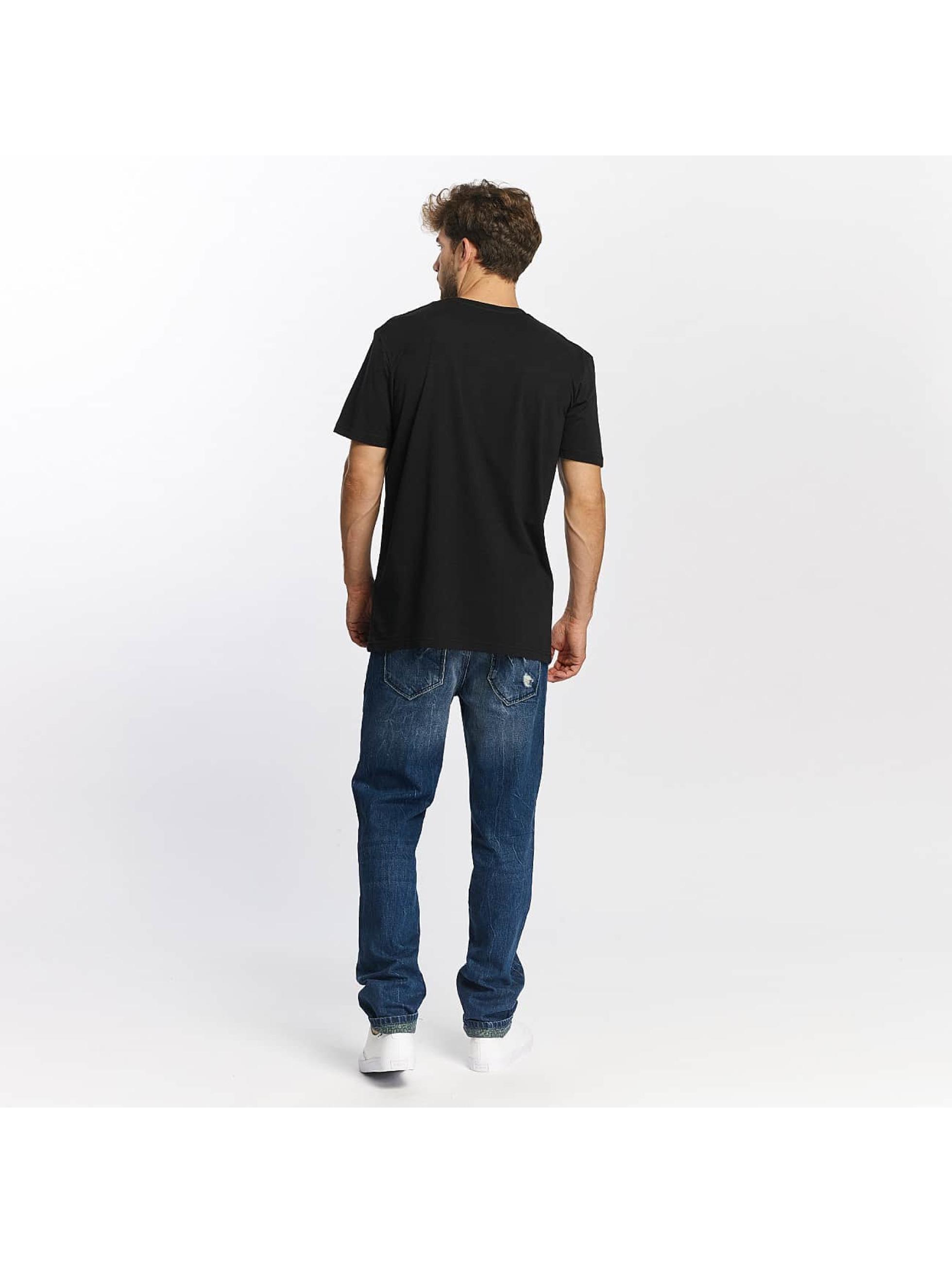 Quiksilver t-shirt Classic Coast Lines zwart