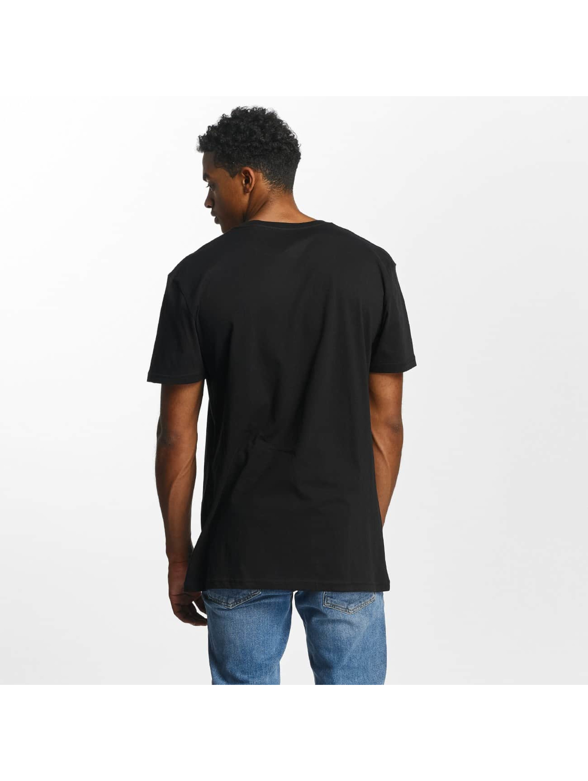 Quiksilver t-shirt Premium East Stacked zwart