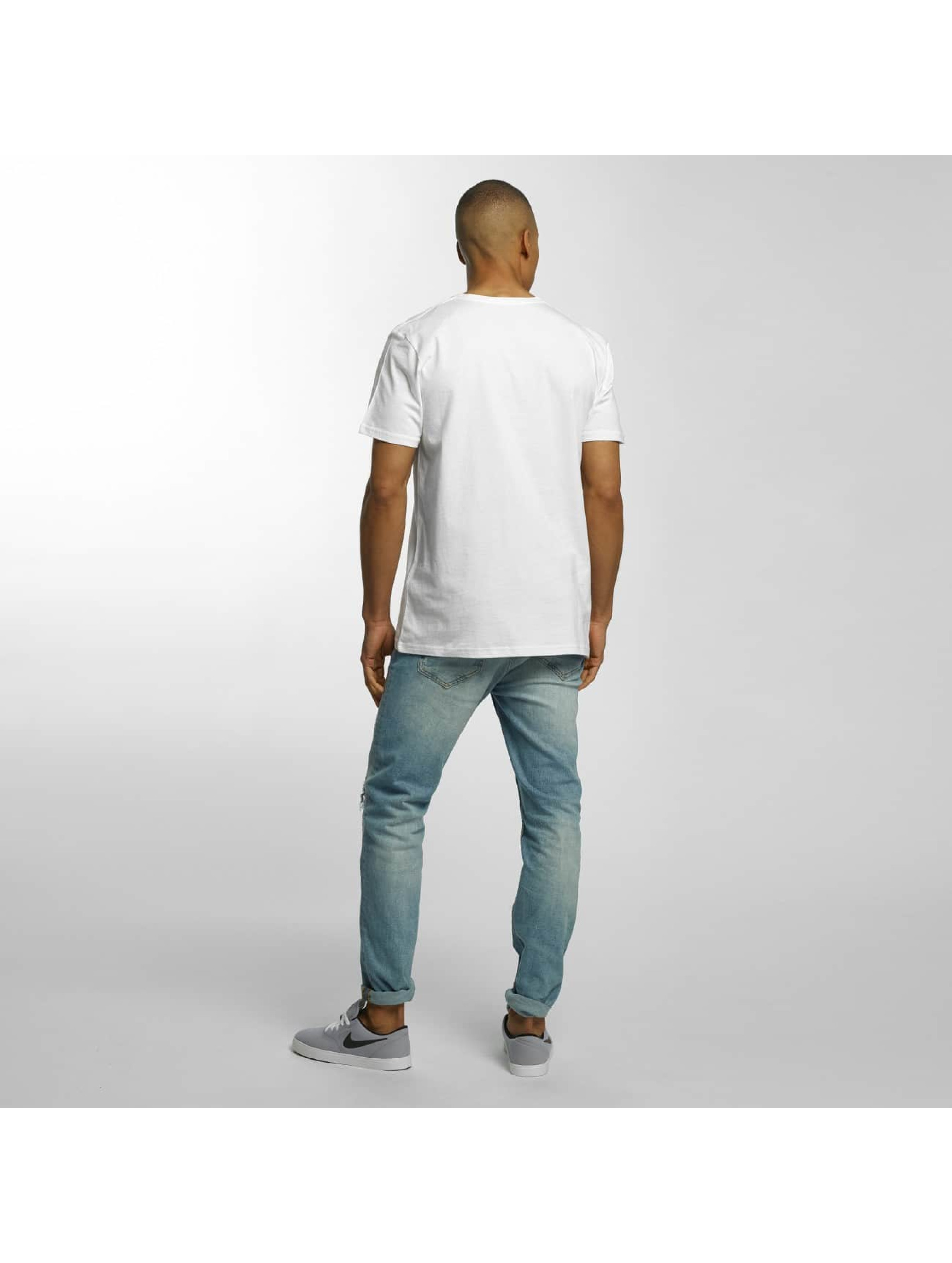 Quiksilver T-Shirty Classic Sea Tales bialy