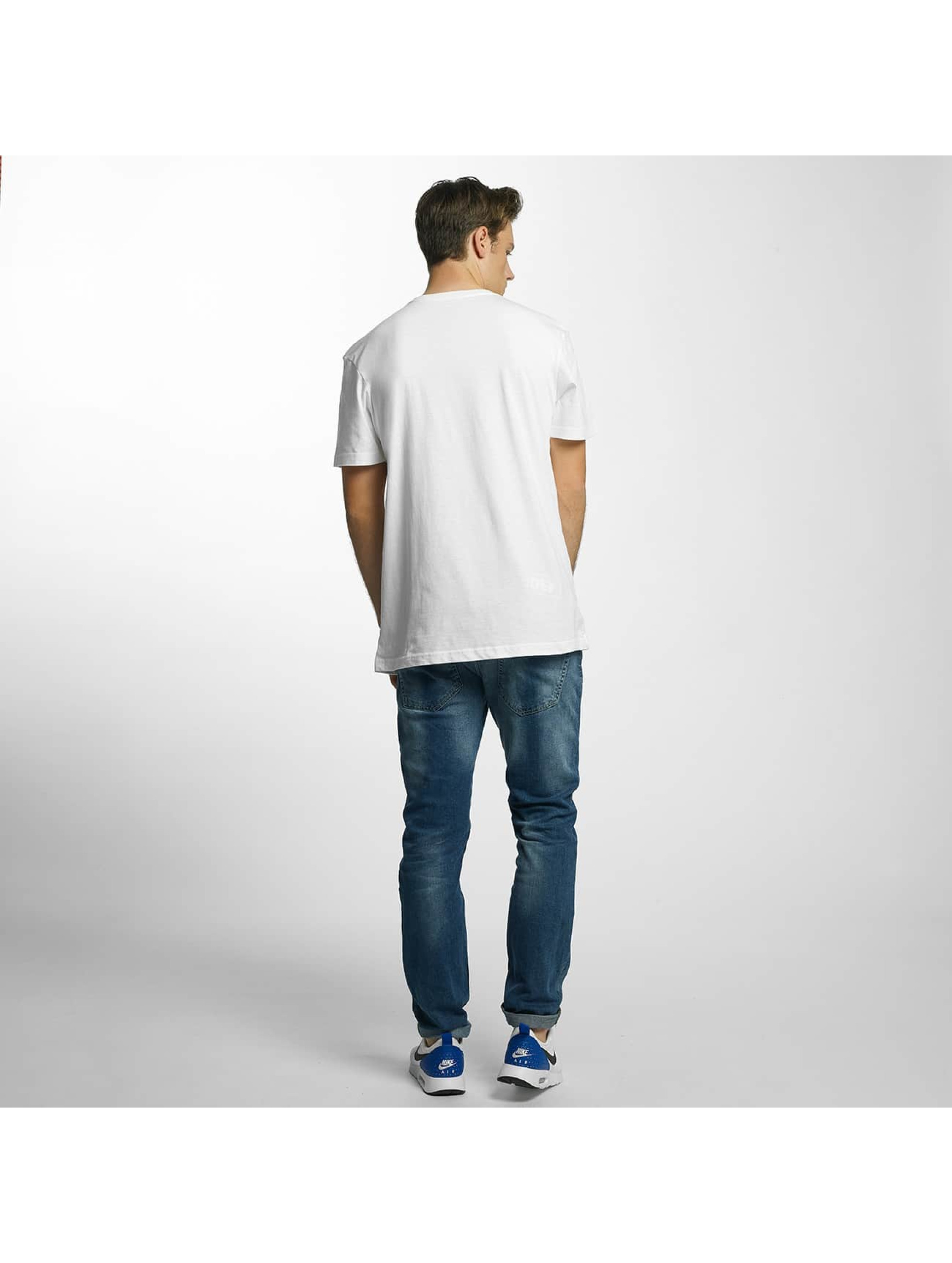 Quiksilver T-Shirty Classic Comfort Place bialy