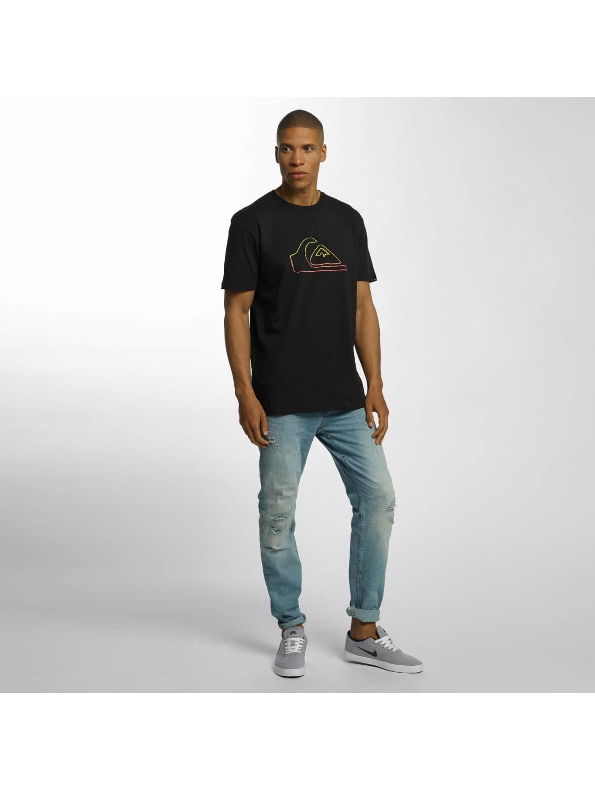 Quiksilver T-Shirty Classic Jungle Mountain czarny