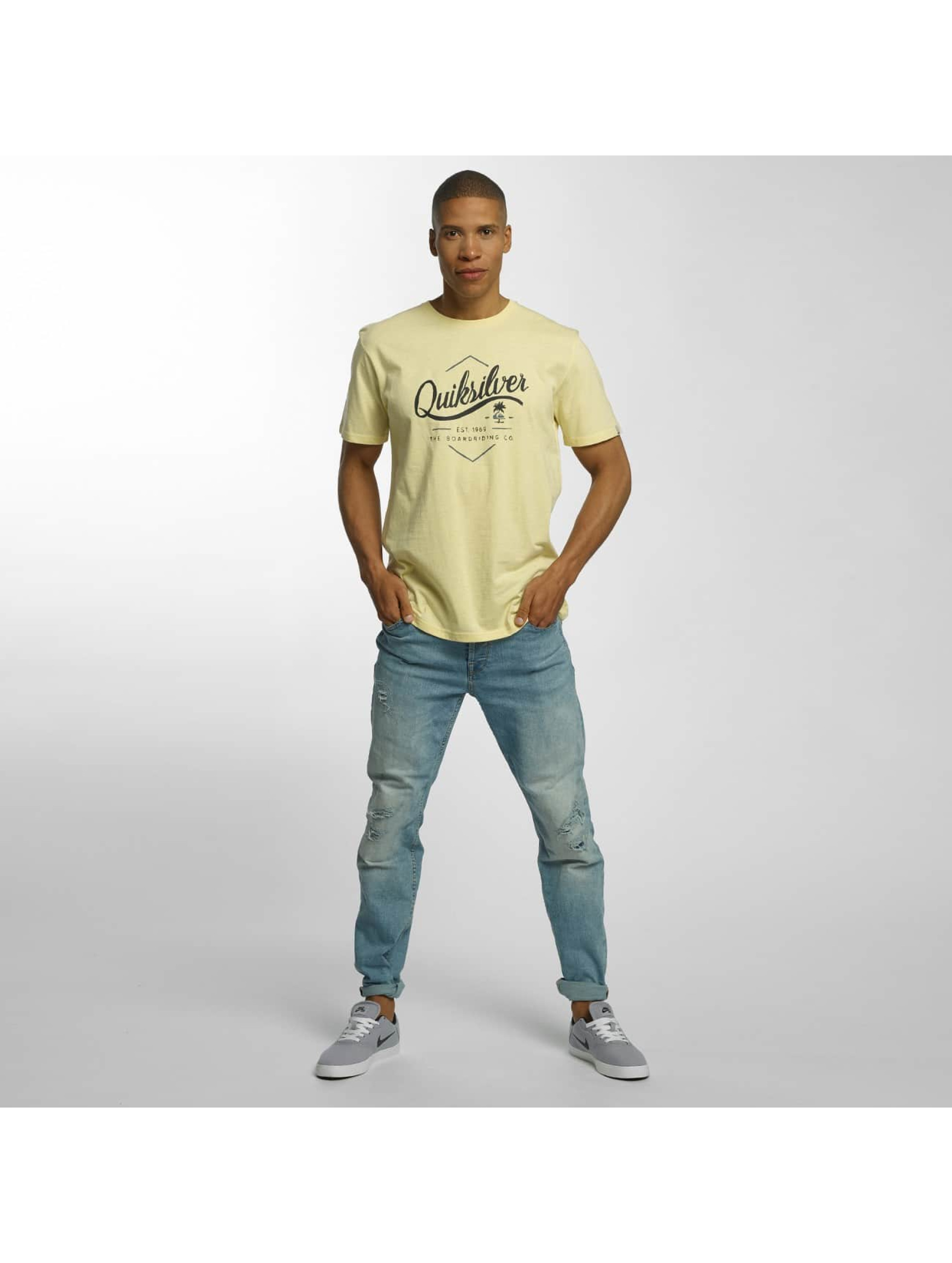 Quiksilver T-Shirty Classic Sea Tales zólty