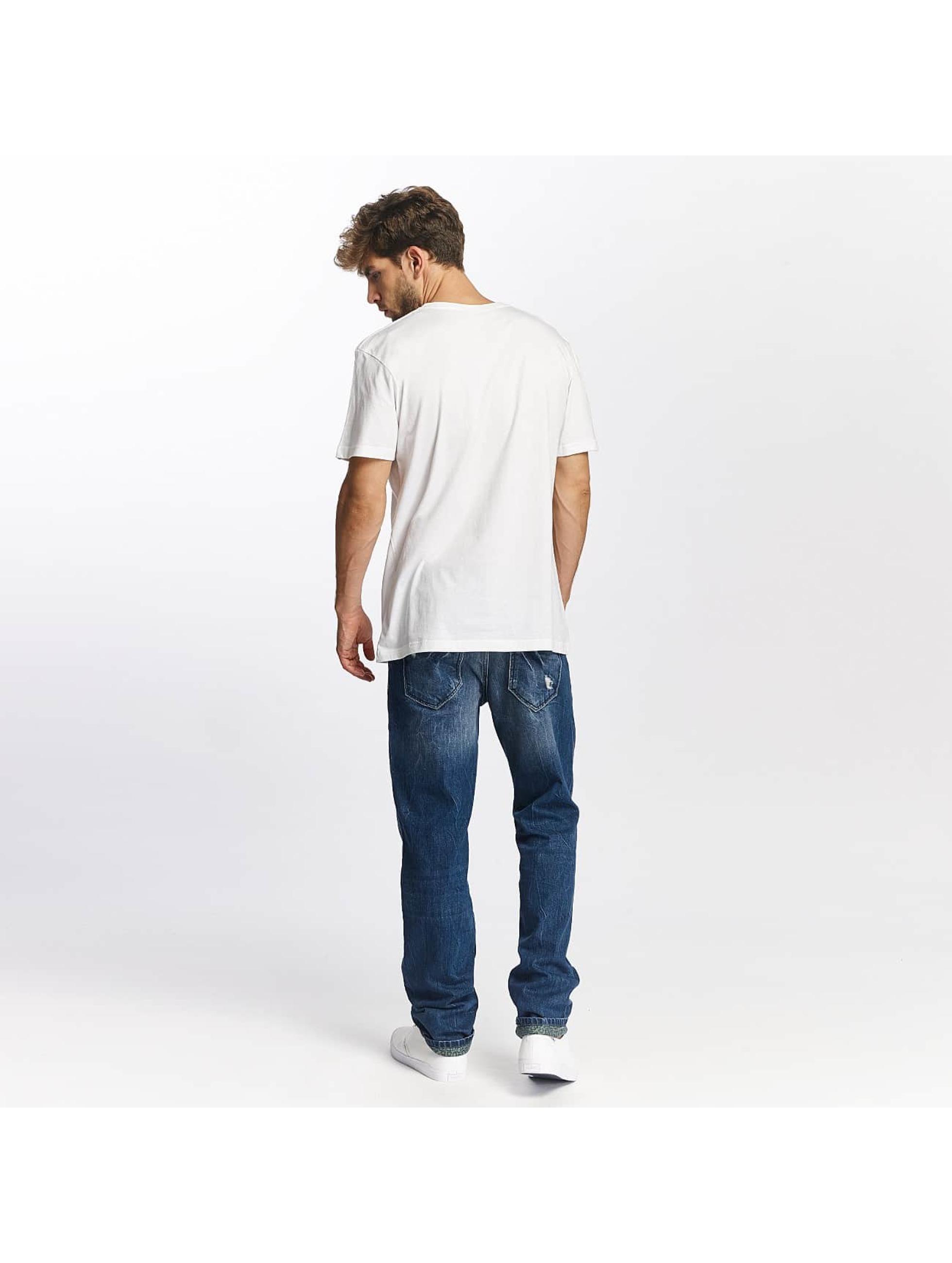 Quiksilver T-skjorter Classic Coast Lines hvit