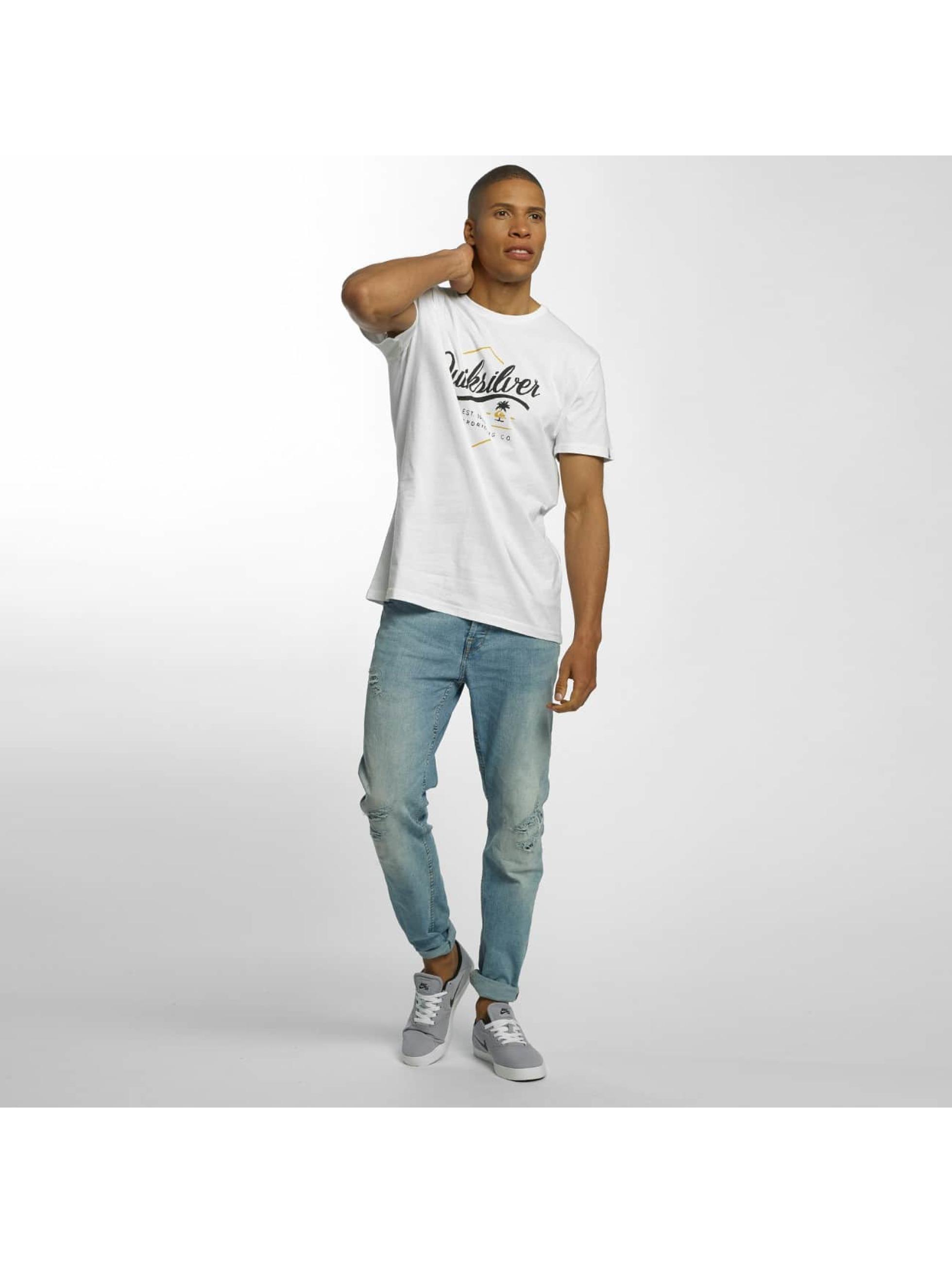 Quiksilver T-skjorter Classic Sea Tales hvit